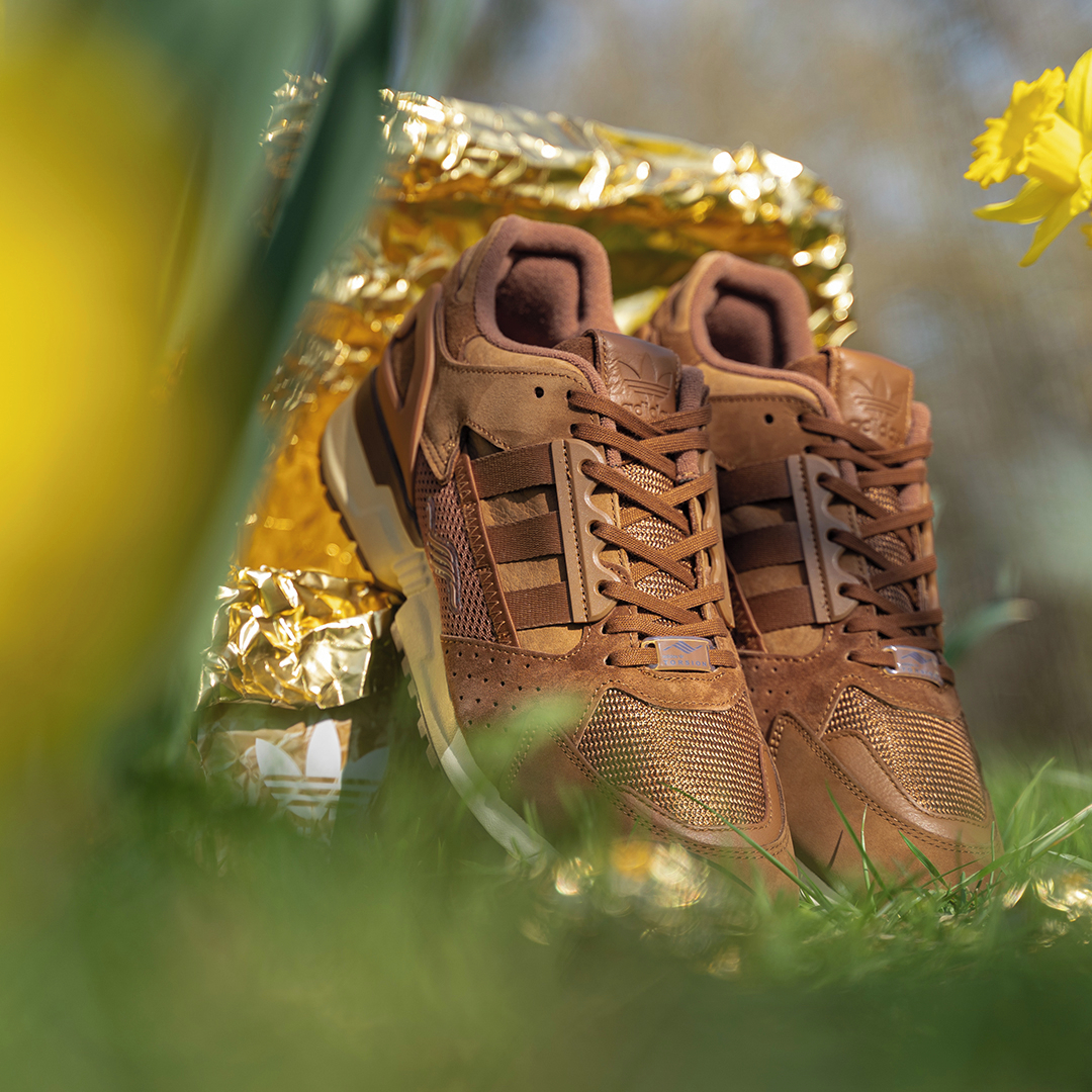 adidas Originals ZX10000C Schokohase - GX7576 - easter bunny chocolate