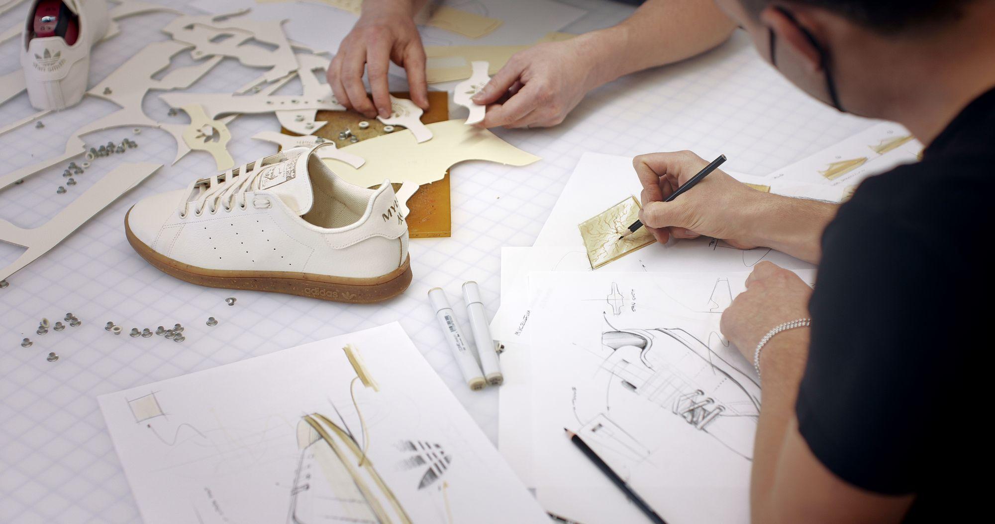 adidas Originals Stan Smith Mylo - sustainable fungi upper