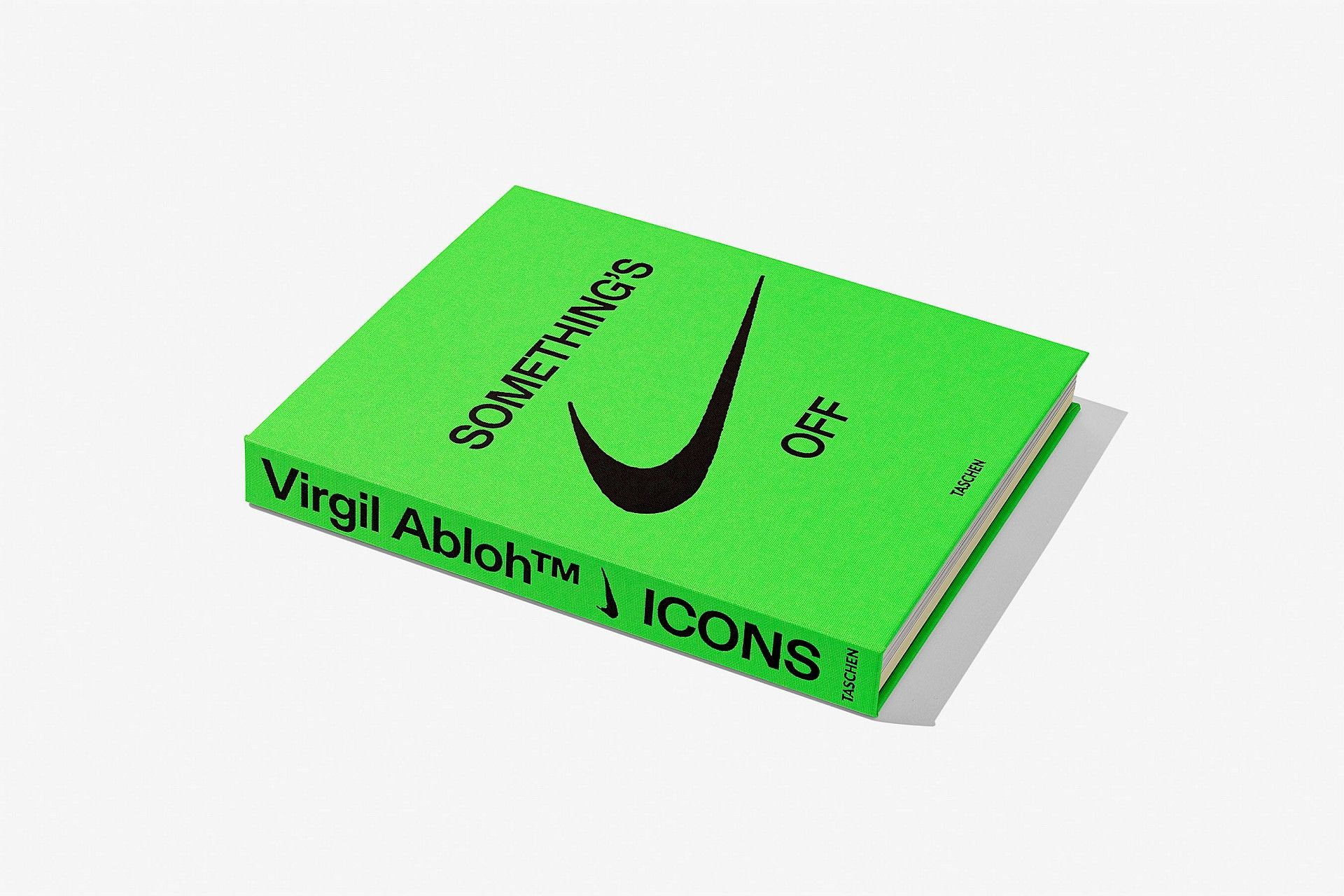 Taschen Verlag - Somethings Off Buch - Virgil Abloh - Off-White - ISBN 9783836585095