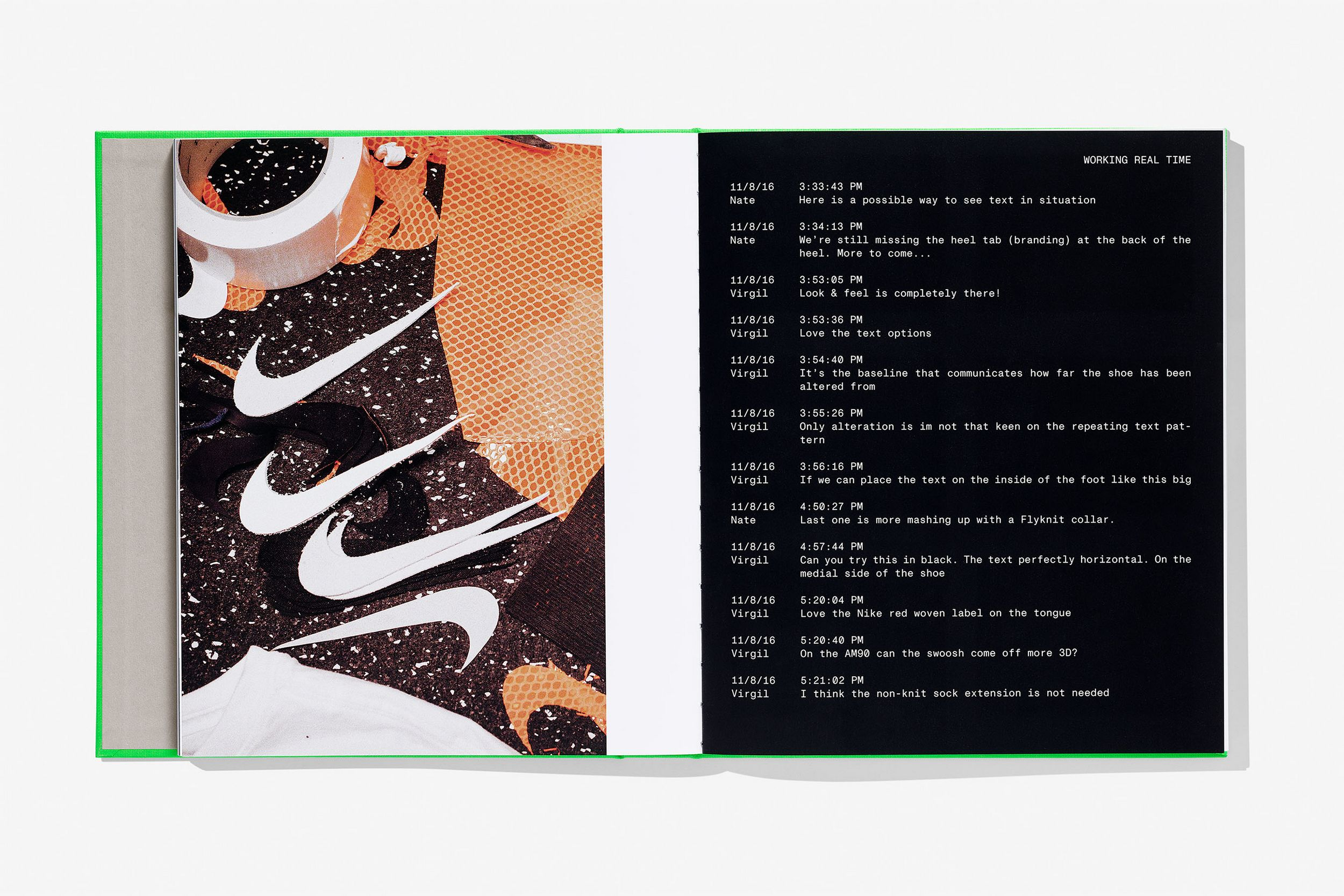 cut-out swooshes - nike - off-white