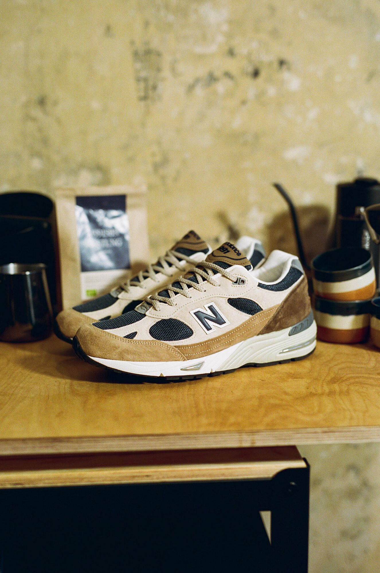 photo of the New Balance Made in Flimby - M991SBN