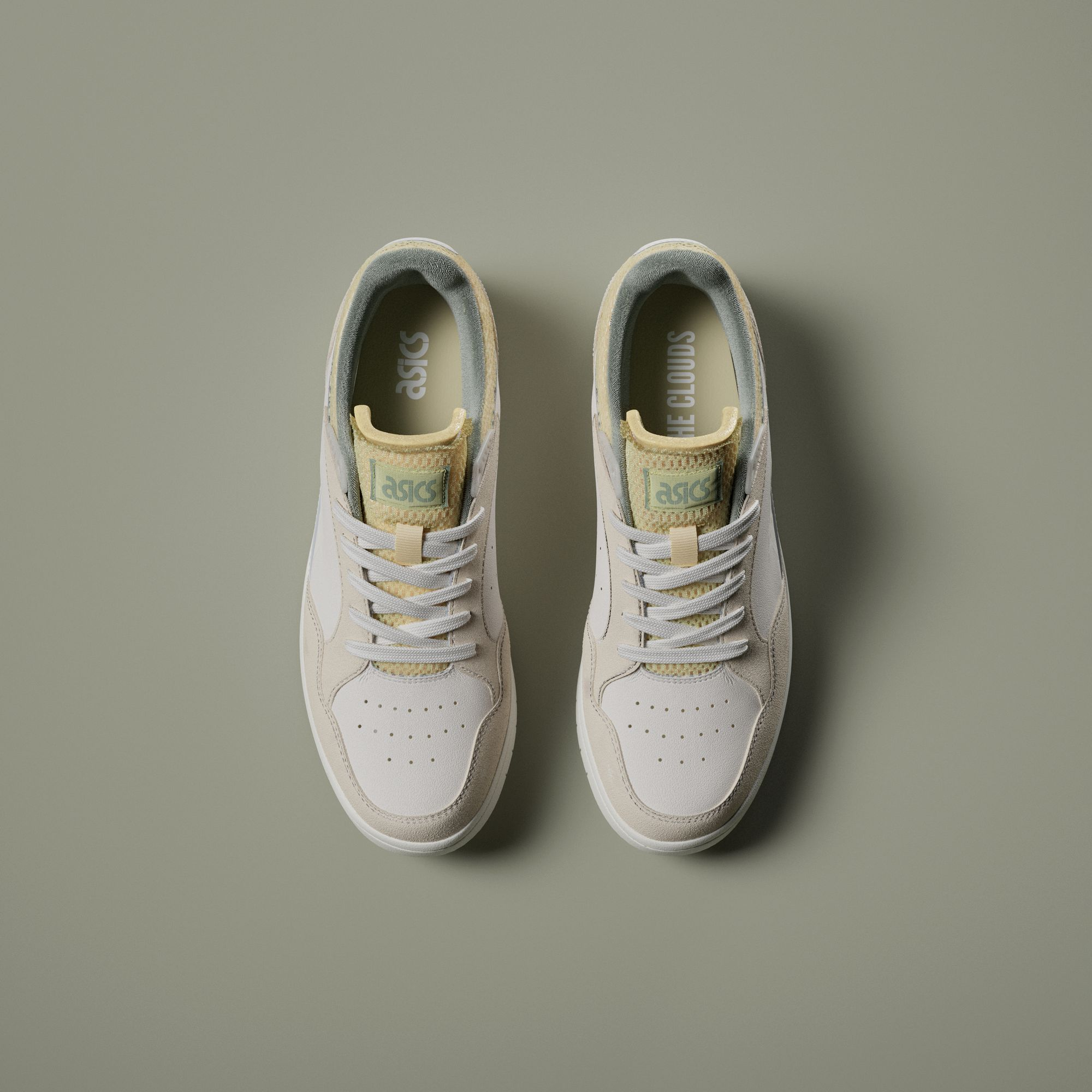 photo of the ASICSSportstyle x Above The Clouds - Skycourt - birch/sage green - 1201A39-200