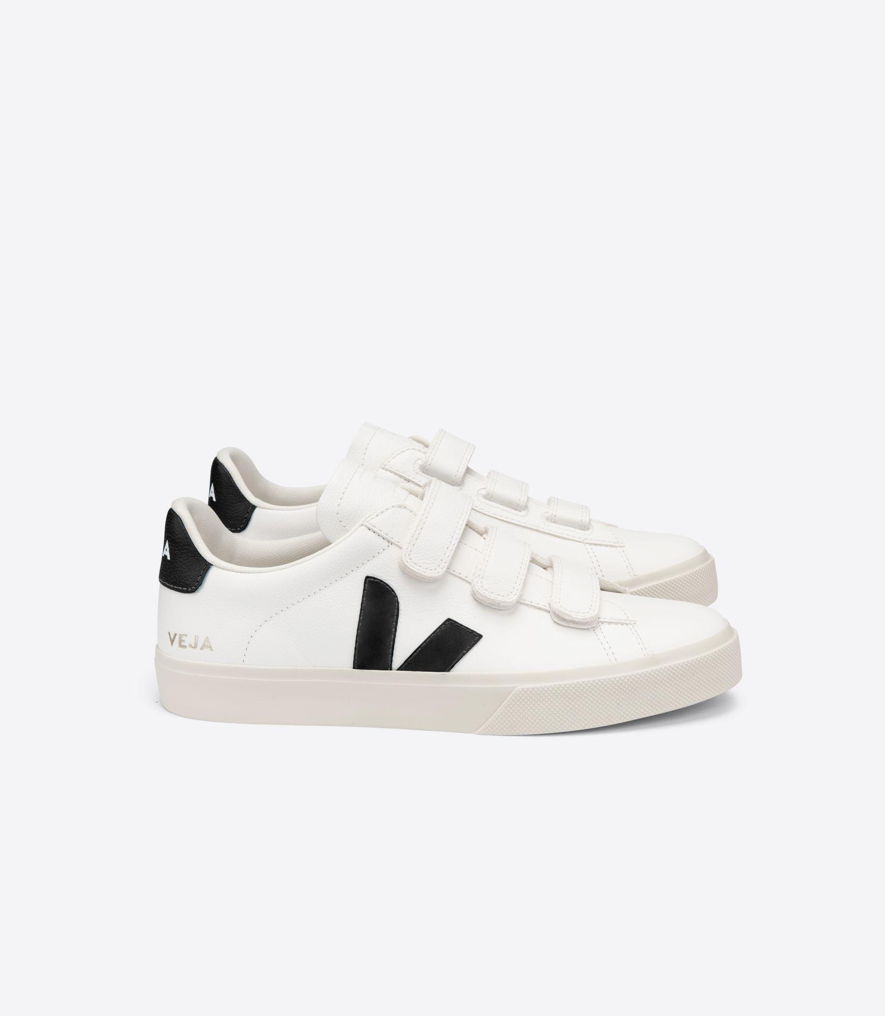 VEJA - Recife - extra-white/black velcro sneaker