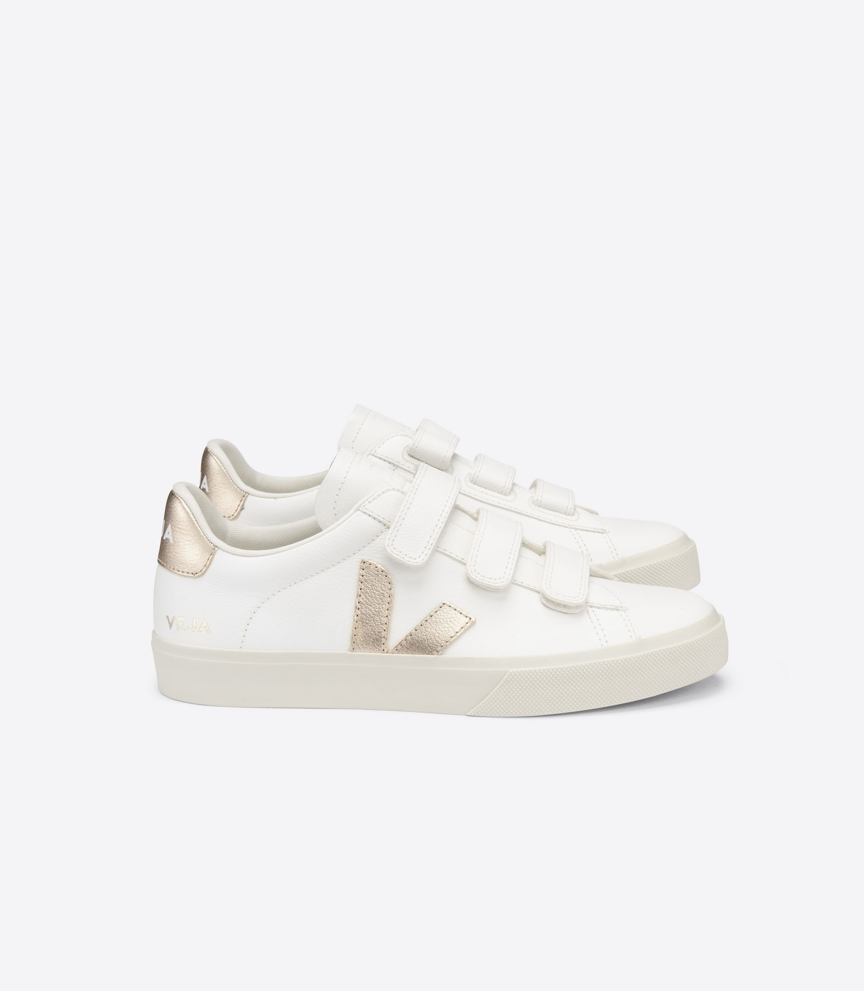 VEJA - Recife - extra-white/platine velcro sneaker