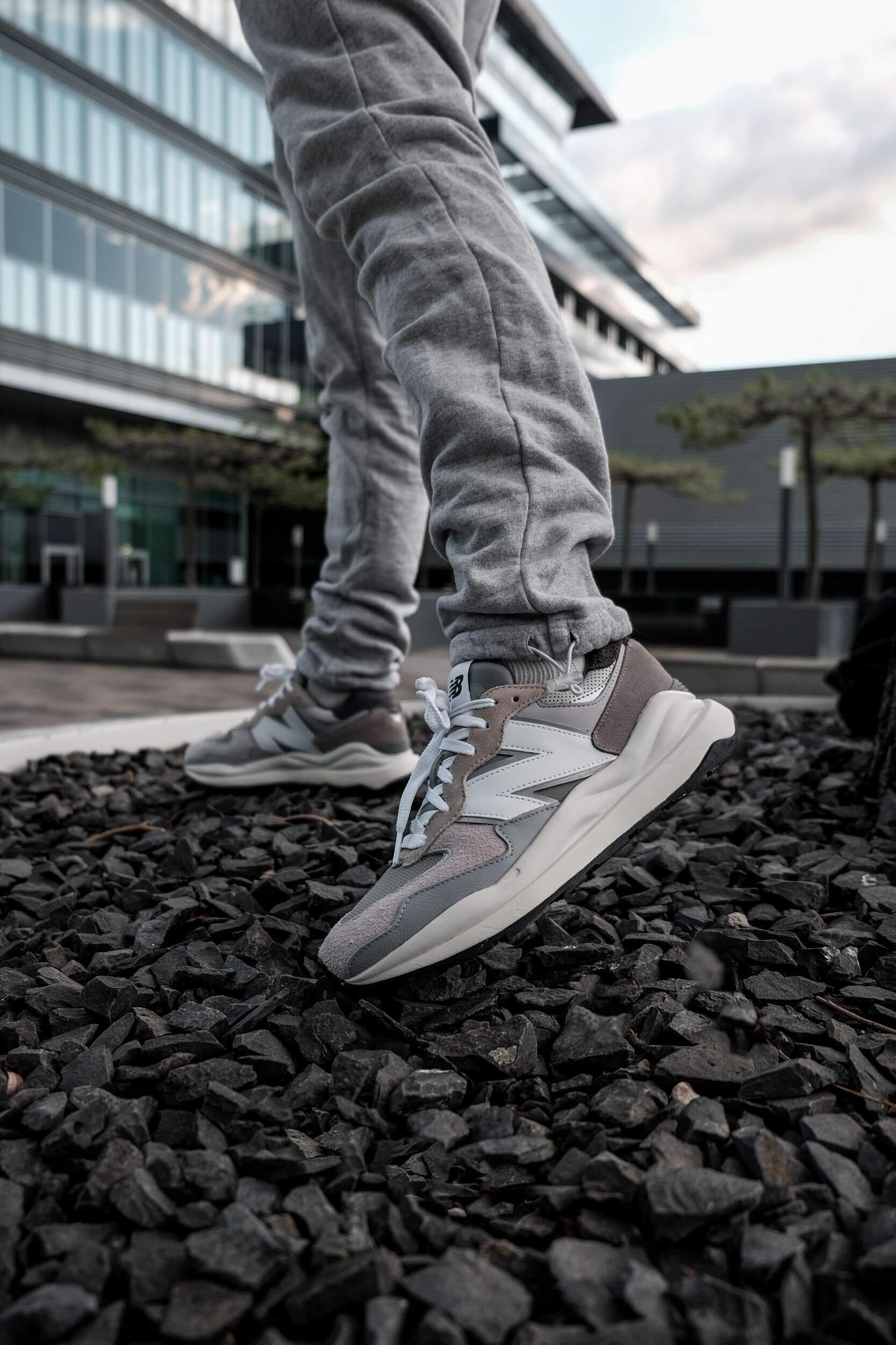 New Balance M 57/40 TA - Grey Day Release on feet photo