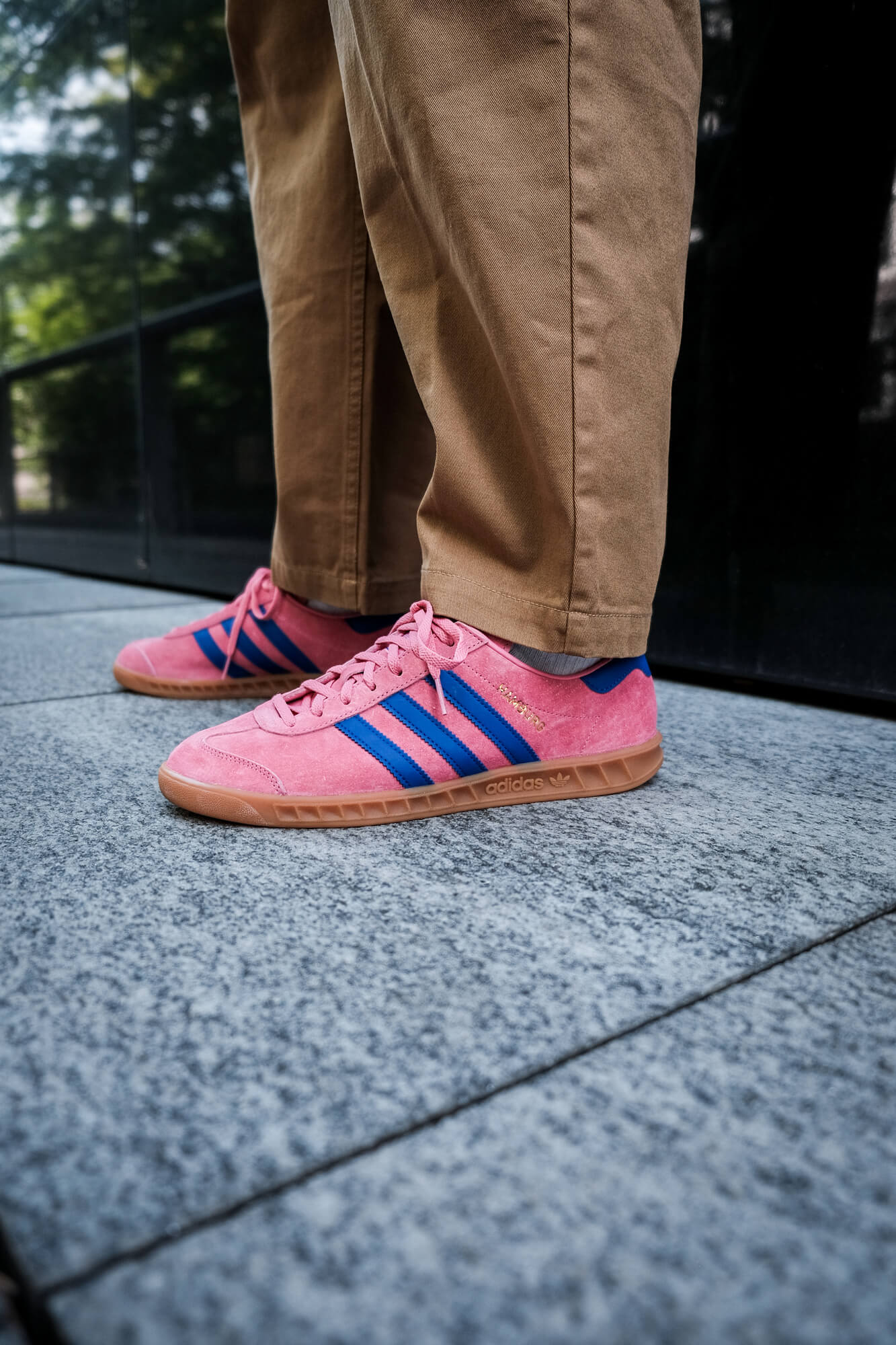 adidas Hamburg - roston/boblue/gum2 - H00446