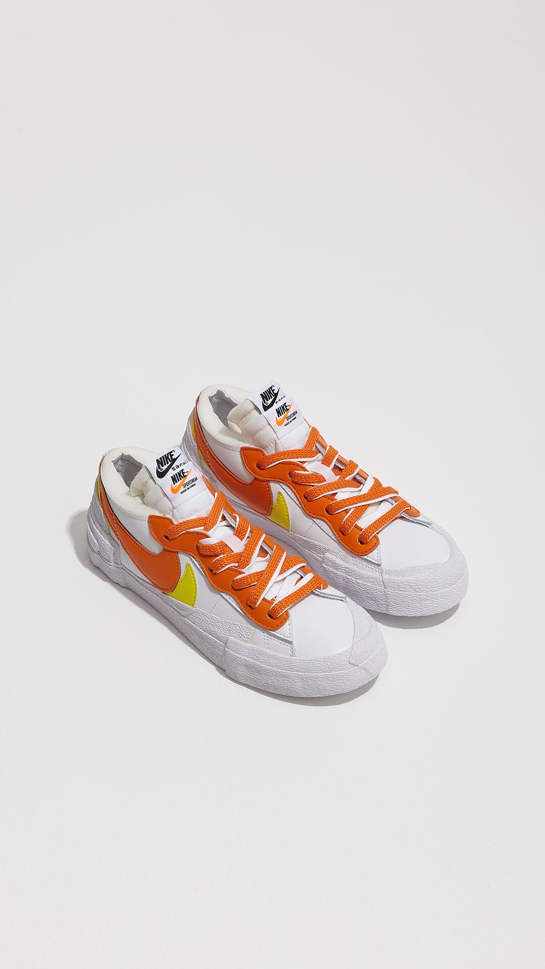 Nike x sacai - Blazer Low - Magma Orange - DD1877-100