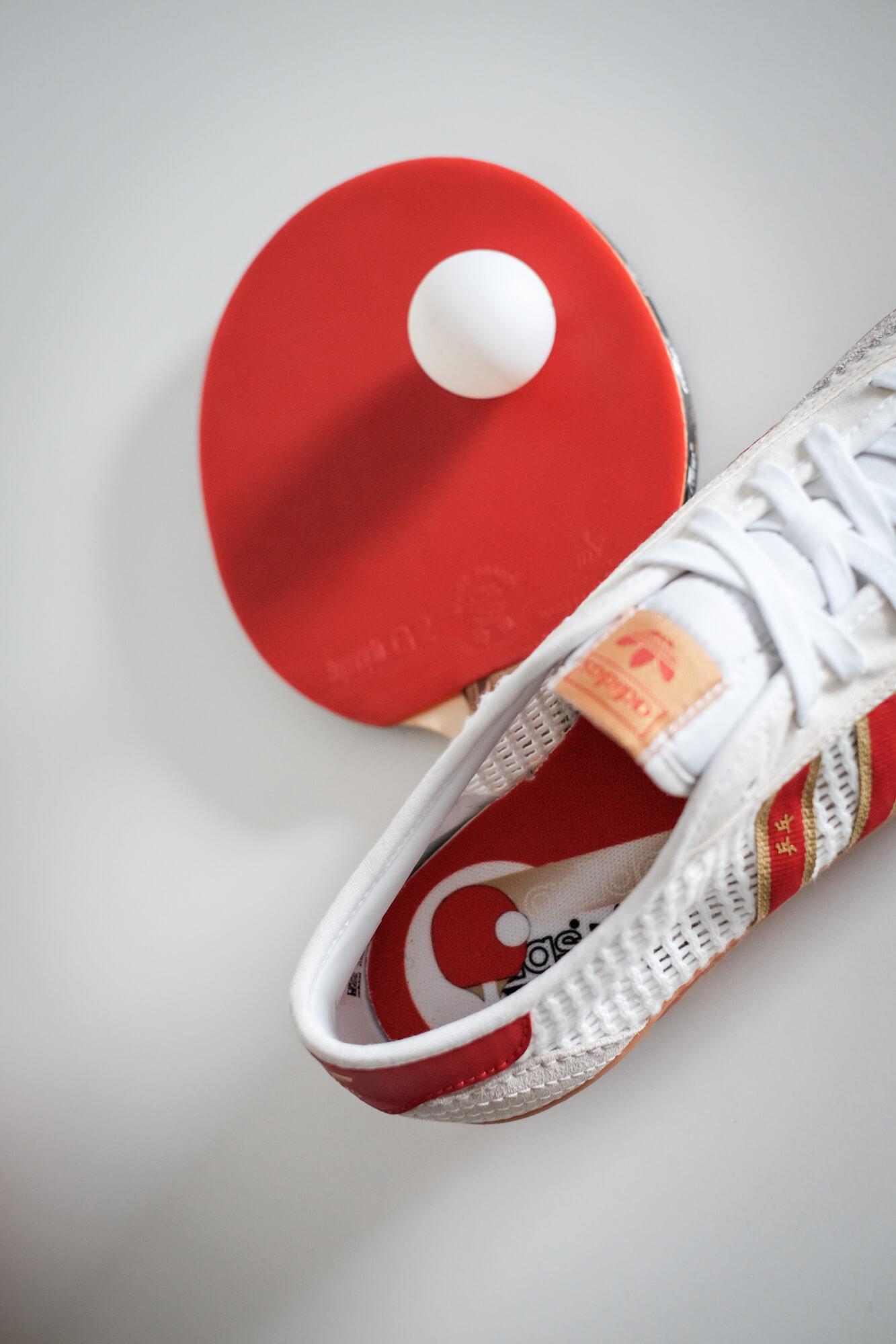 adidas - Tischtennis - footwear white/team college red/core white - H01796