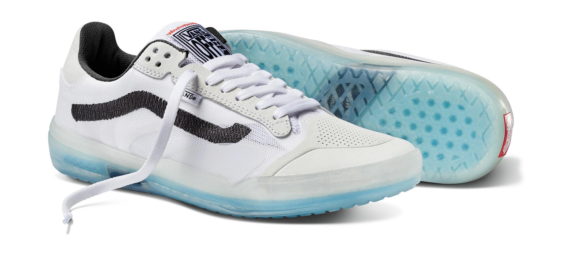 Vans EVDNTUltimateWaffle Sneaker - white/white/black - vn0a5dy74np