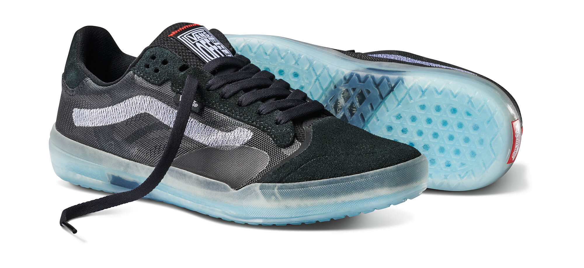 Vans EVDNTUltimateWaffle Sneaker - black/black/white - vn0a5dy7b8c