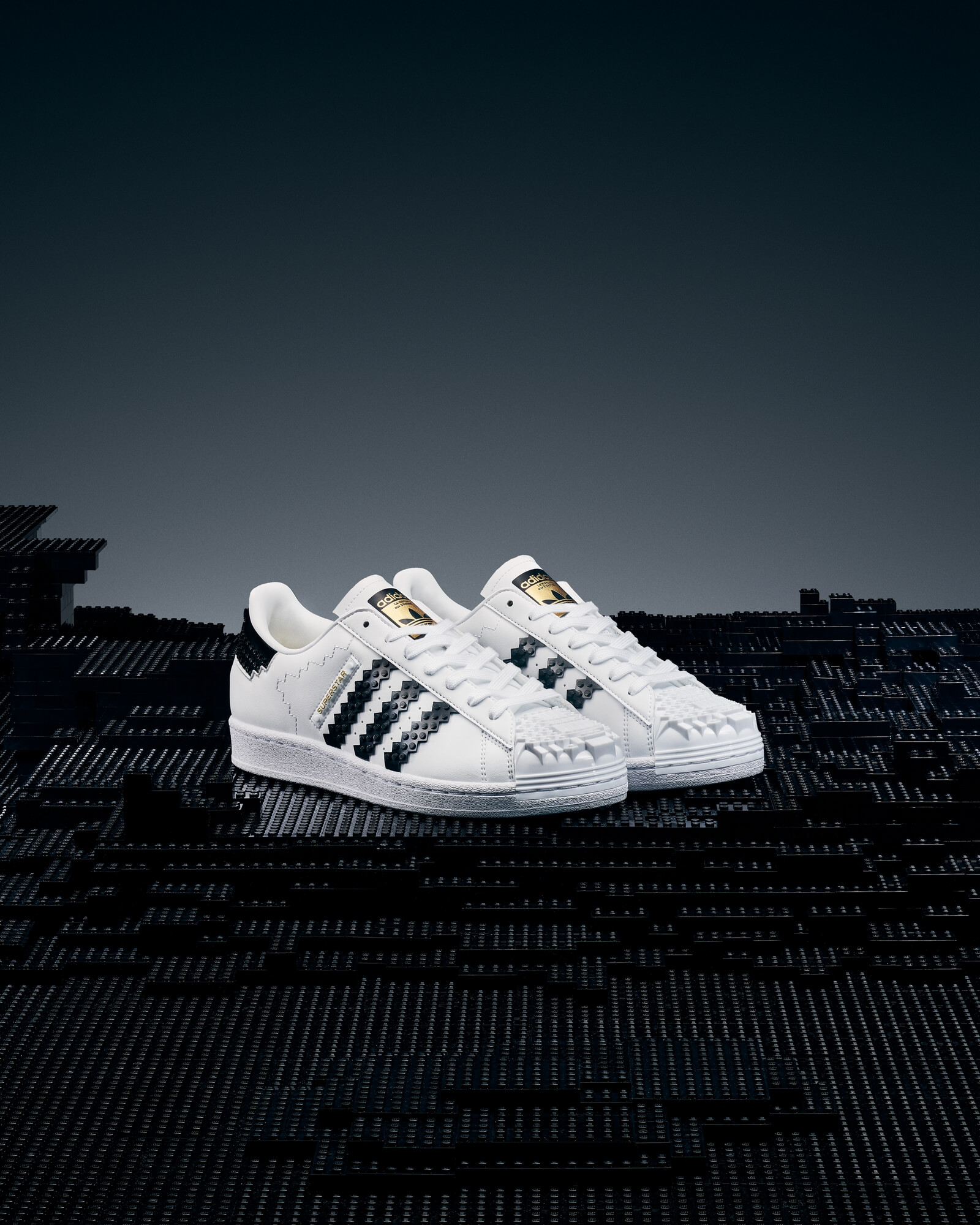 adidas Originals x LEGOSuperstar - The wearable sneaker version