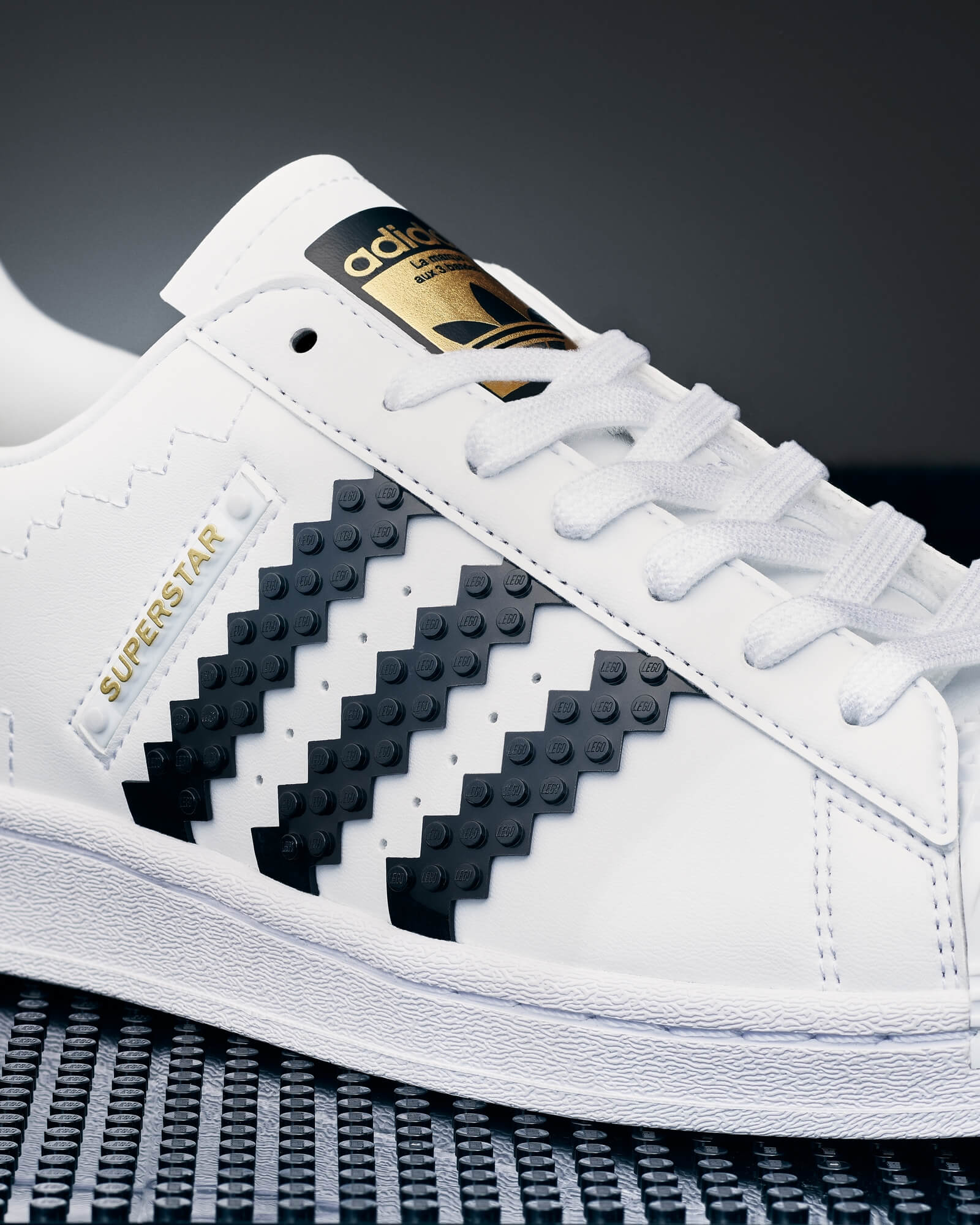 The Brand with the 3 stripes (made of Lego)