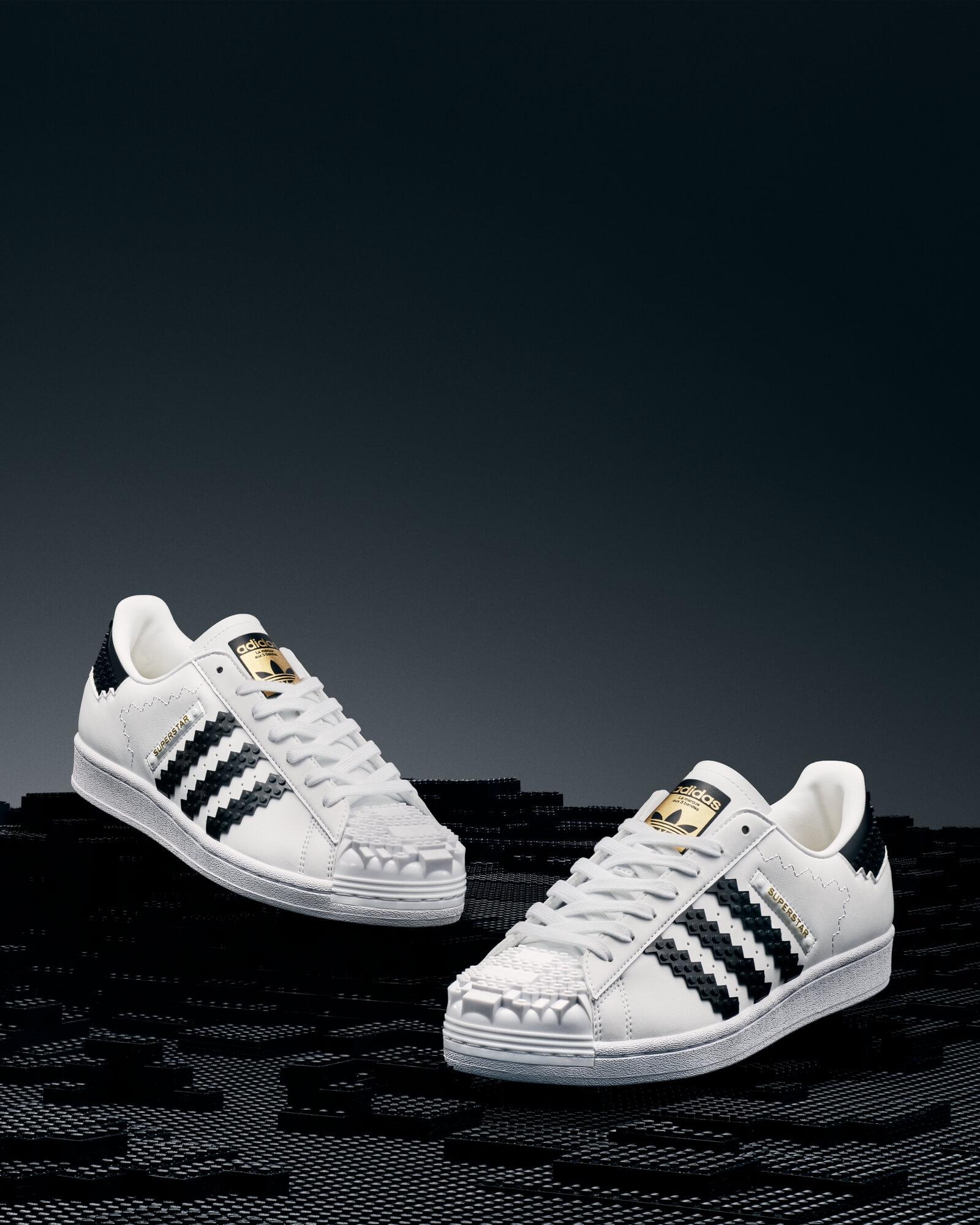 adidas Originals x LEGO - Superstar collaboration sneaker release date
