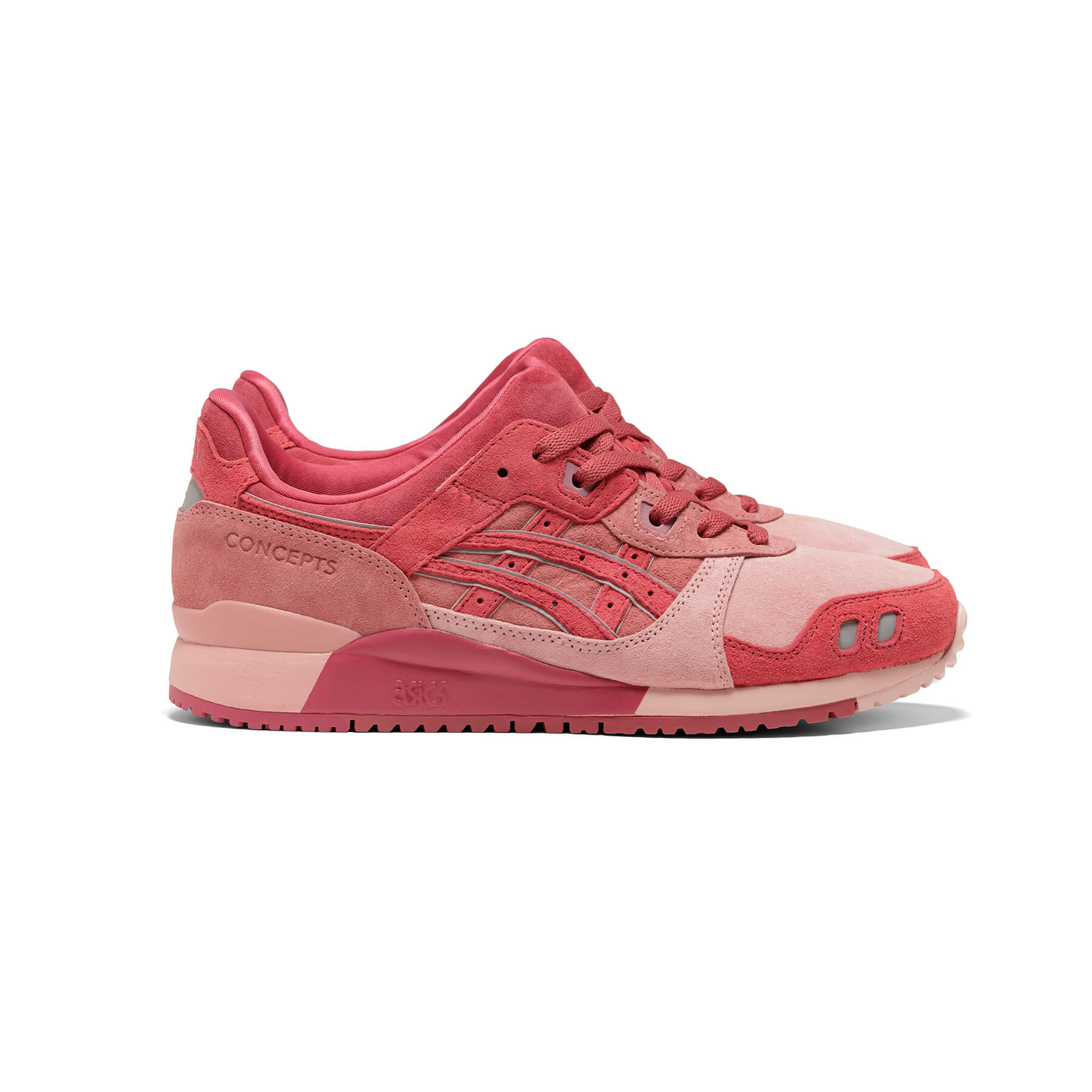 """ASICS SportStyle x Concepts - GEL-LYTE III OG - """"Otoro"""" - 1203A121-700 - Coral Cloud /Pure Silver"""