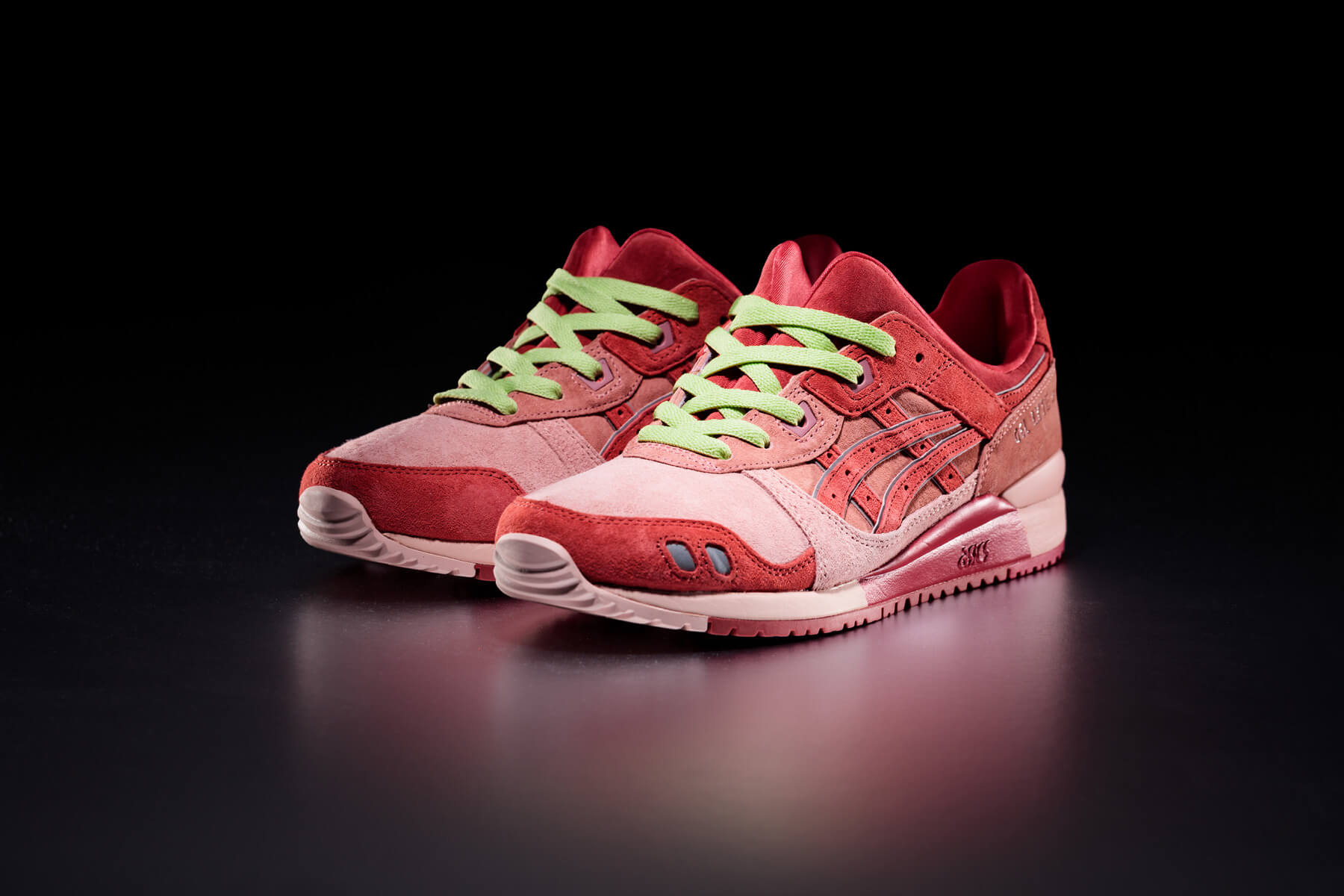 """ASICS SportStyle x Concepts - GEL-LYTE III OG - """"Otoro"""" - 1203A121-700 - Coral Cloud /Pure Silver with wasabi lacing"""