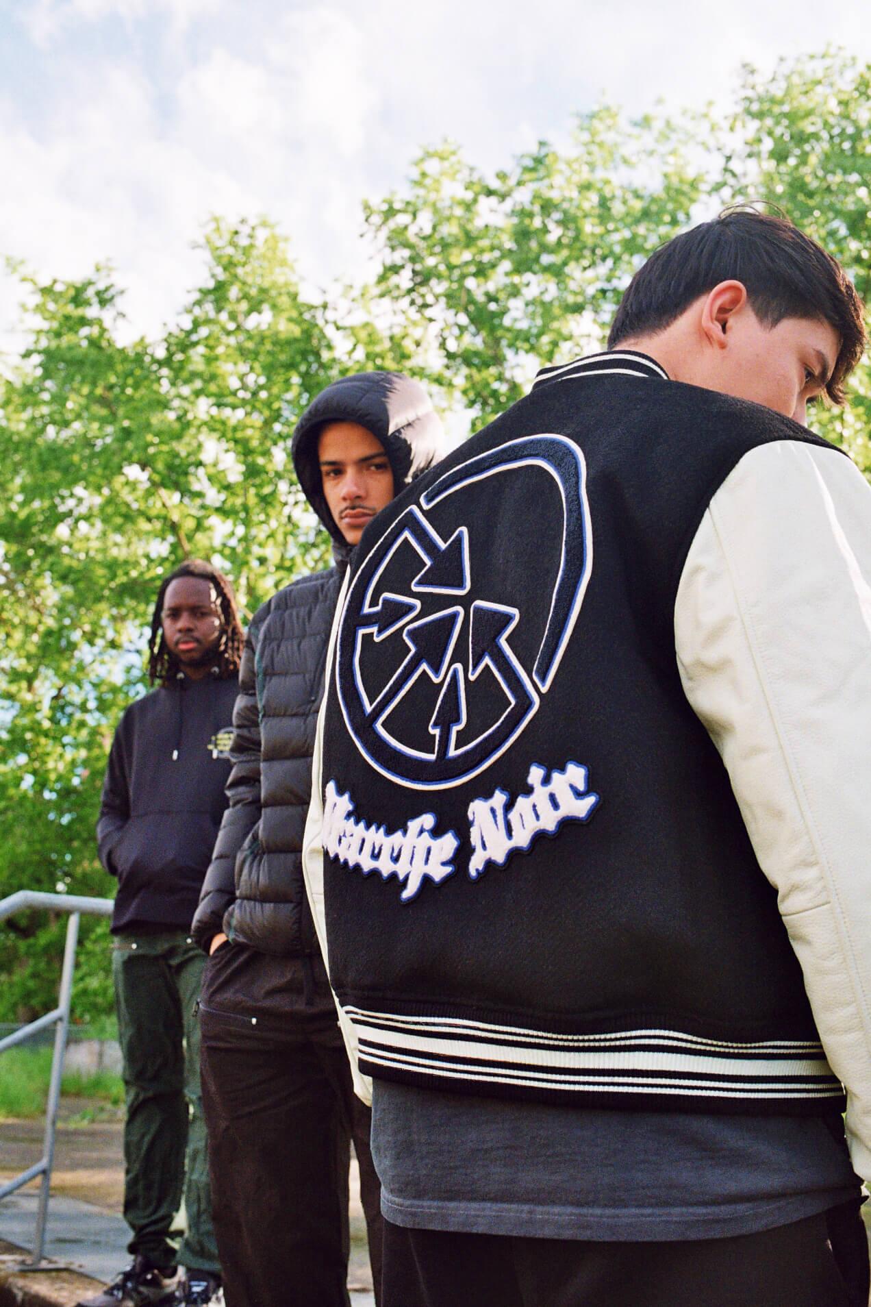 M+RC NOIR college jacket