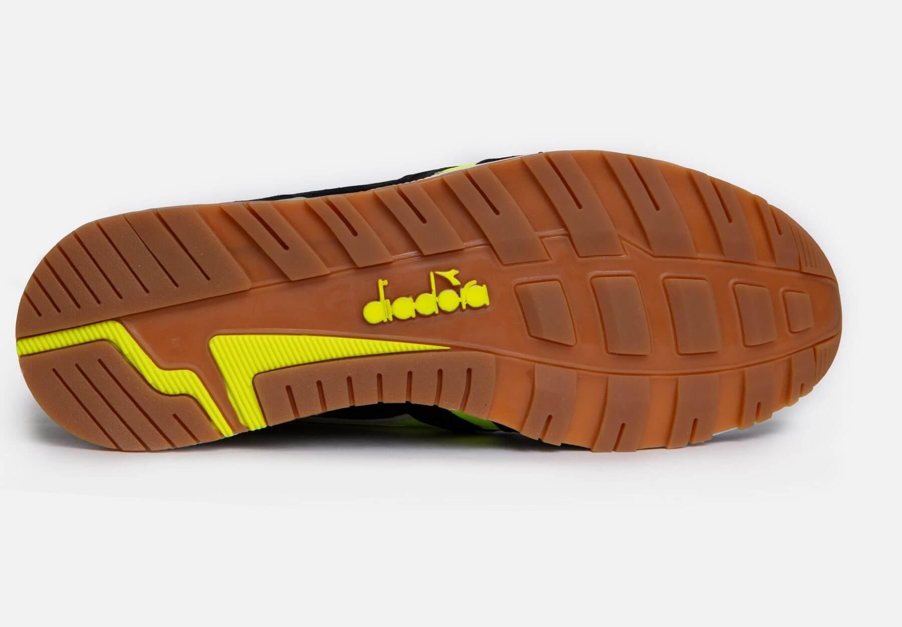 "Diadora x Patta - N9000 - ""Game On"" - black/yellow - 501-177683-80013"