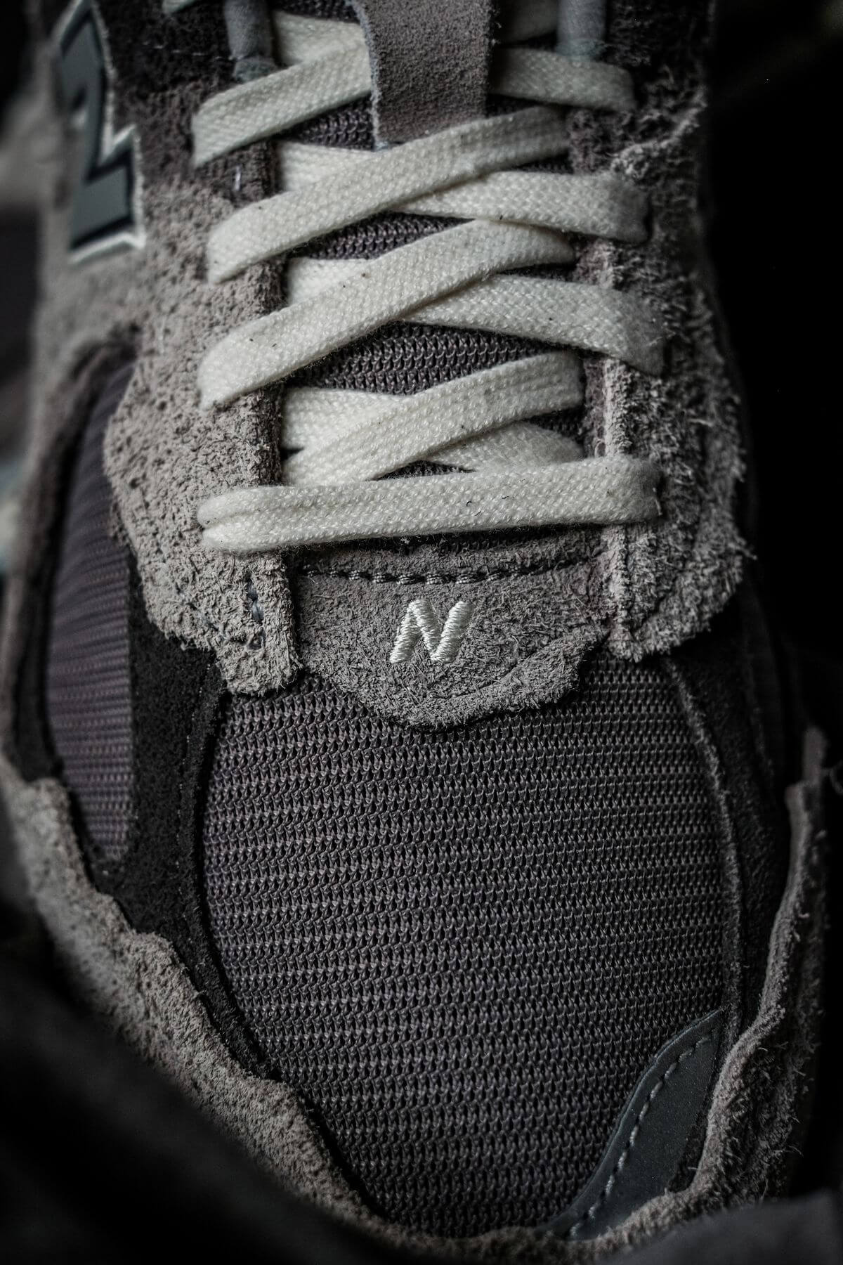 details photo of the New Balance - M2002 RDA - Protection Pack - rain cloud/magnet grey
