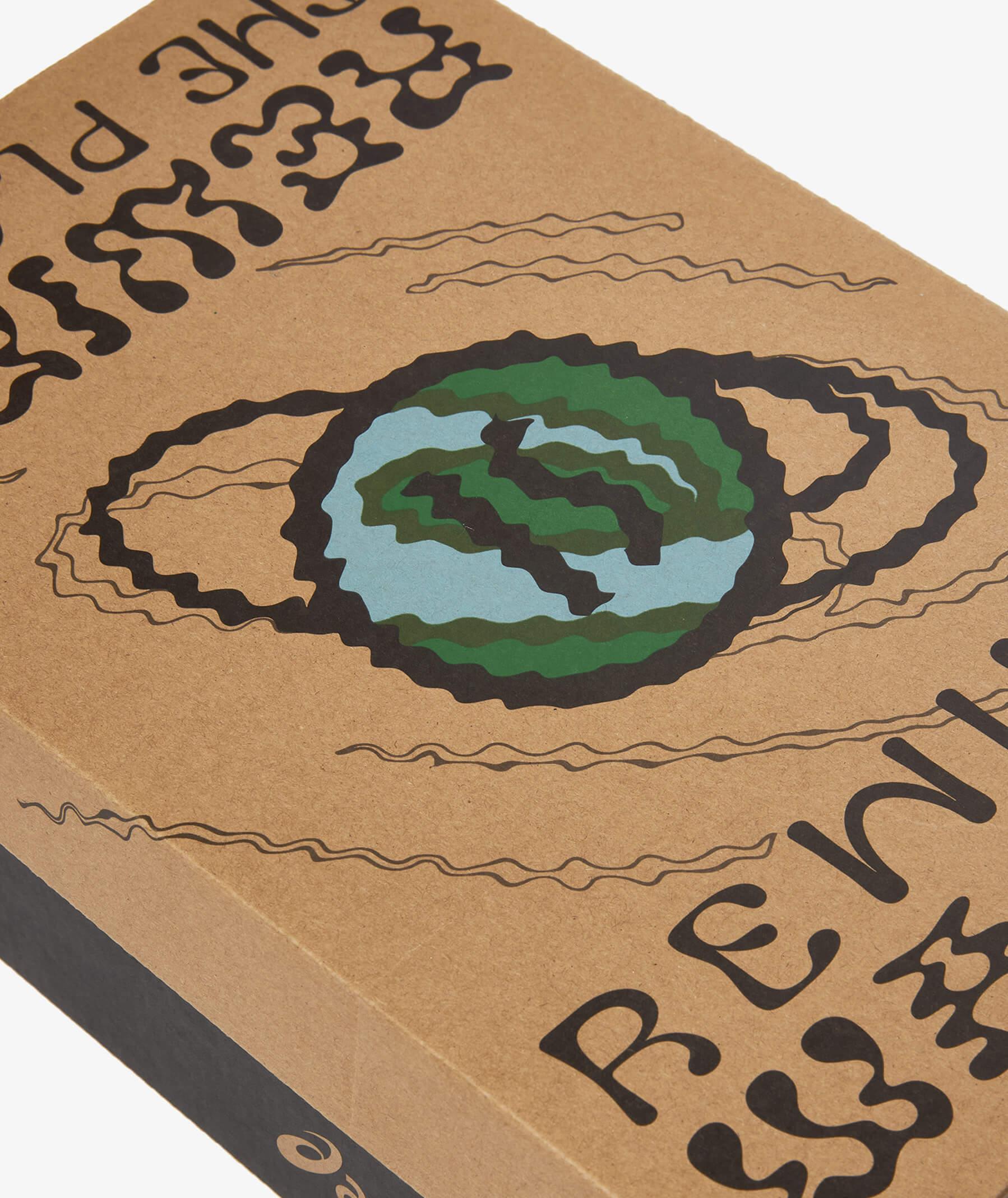 eco friendly box - ASICSSportStyle x SIVASDESCALZO (SVD)- GEL-LYTEIIIOG- Rewind The Planet - beige/black - 1203A122-250