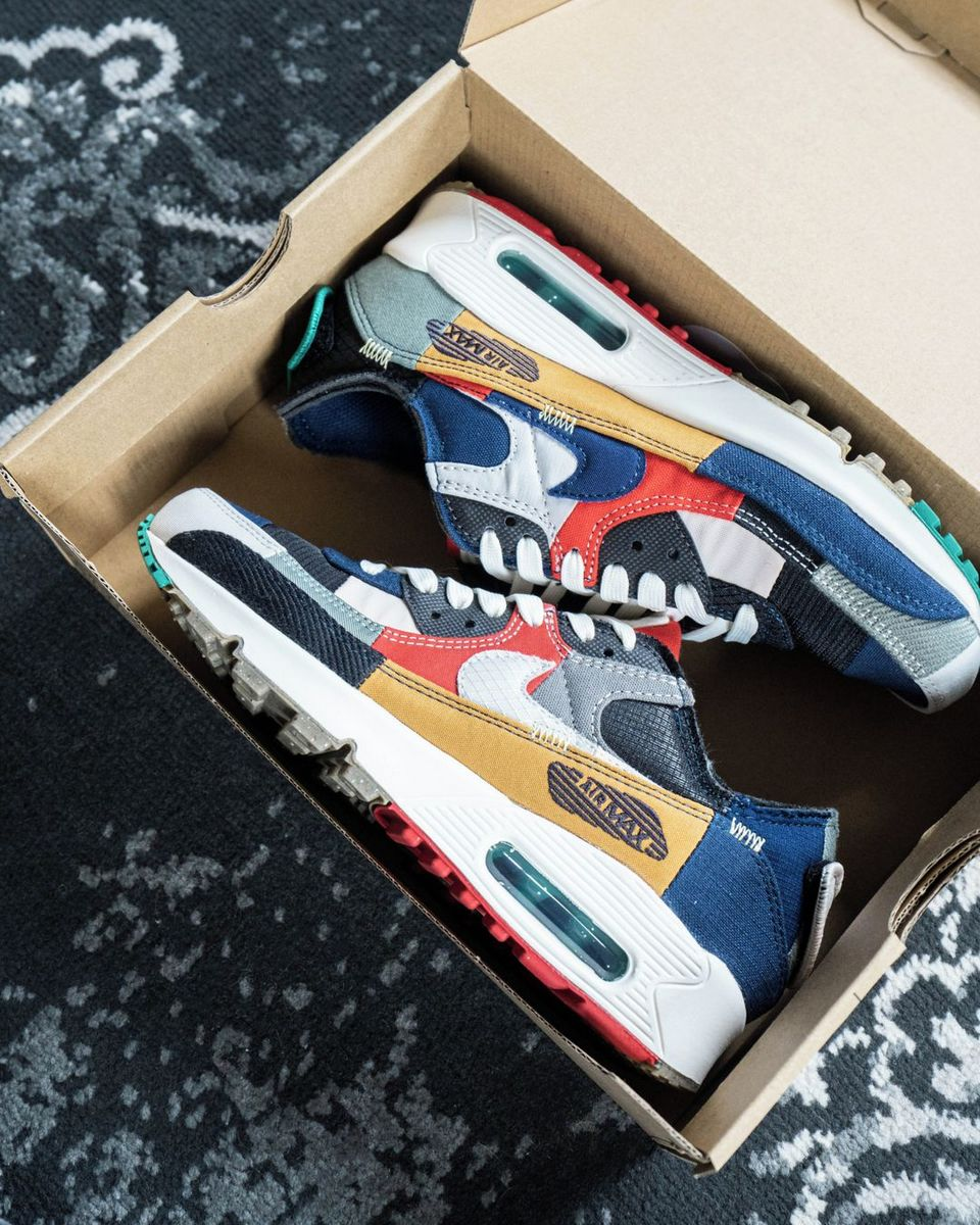 "Nike - Wmns Air Max 90 - Quickstrike - ""Scrap"" - DJ4878-400"