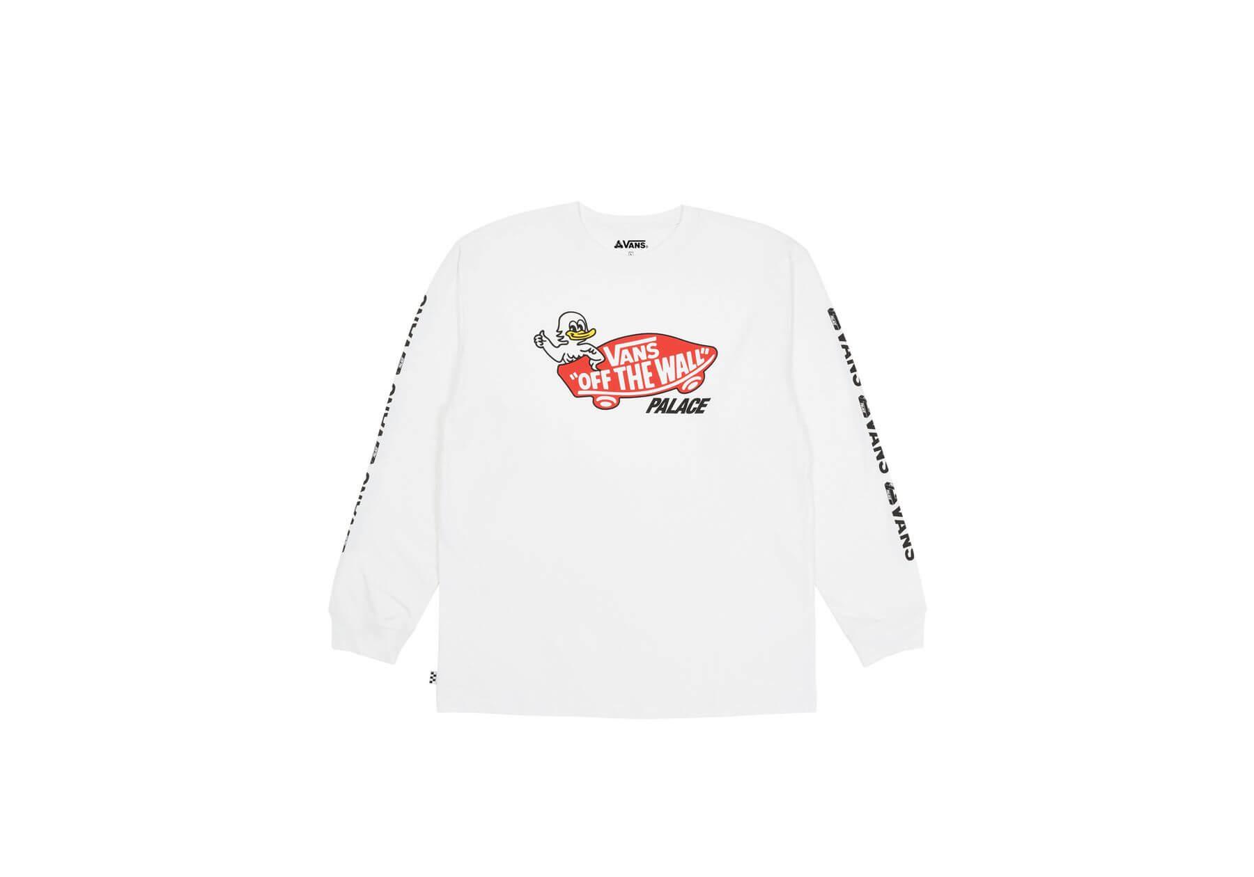 Vans x Palace - Jeremy the Duck - Long Sleeve Shirt