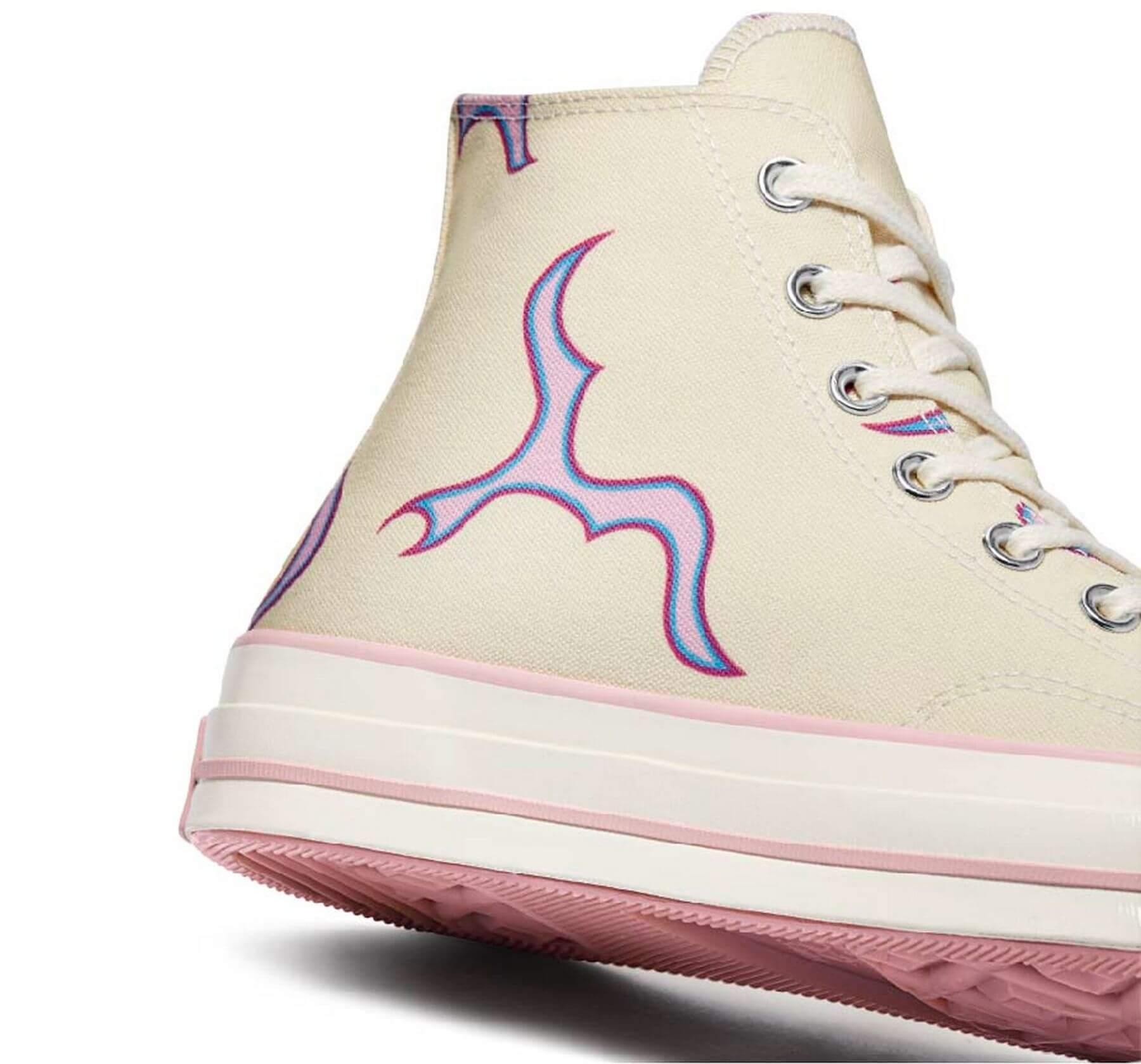 """Converse x Golf Wang / Tyler The Creator - Chuck 70 - """"Pink Flames""""- 172398C"""