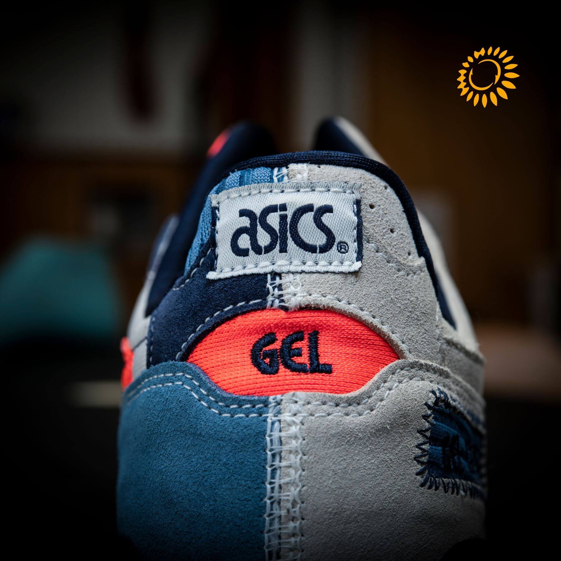 "heel detail - ASICS- GEL-LYTEIII OG - ""Patchwork""- birch/birch - 1203A133.200"
