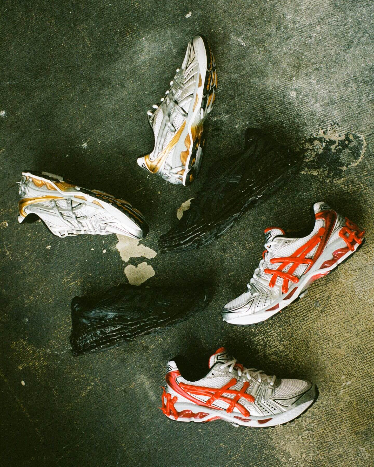 the whole collection - Dennis Buck - Asics Gel-Kayano 14