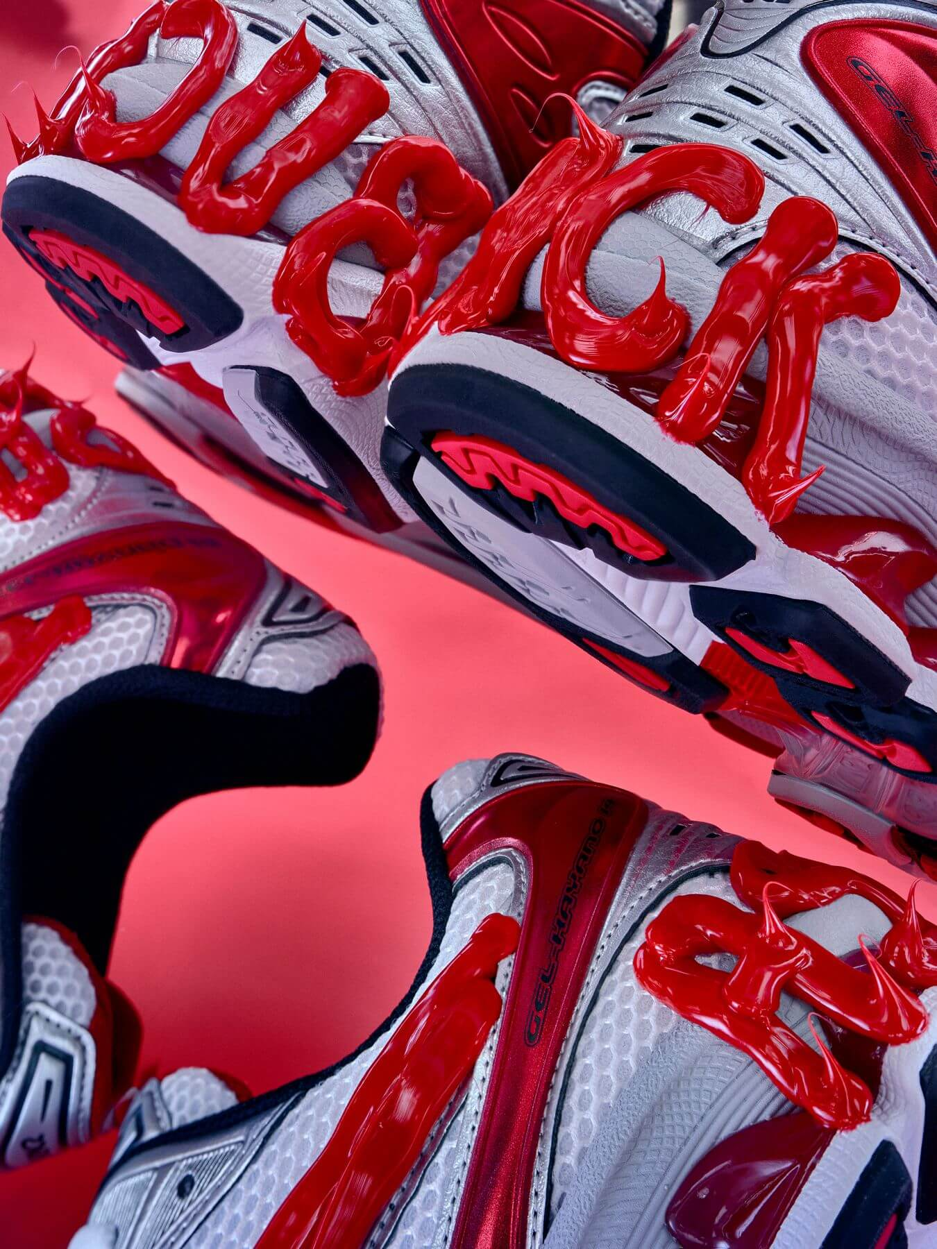heel details - ASICSx Dennis Buck - Gel Kayano 14