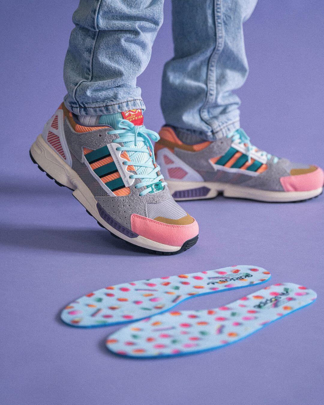 "on feet - adidas - ZX10/8 - ""Candyverse"" - GX1085 /ZX 10800"