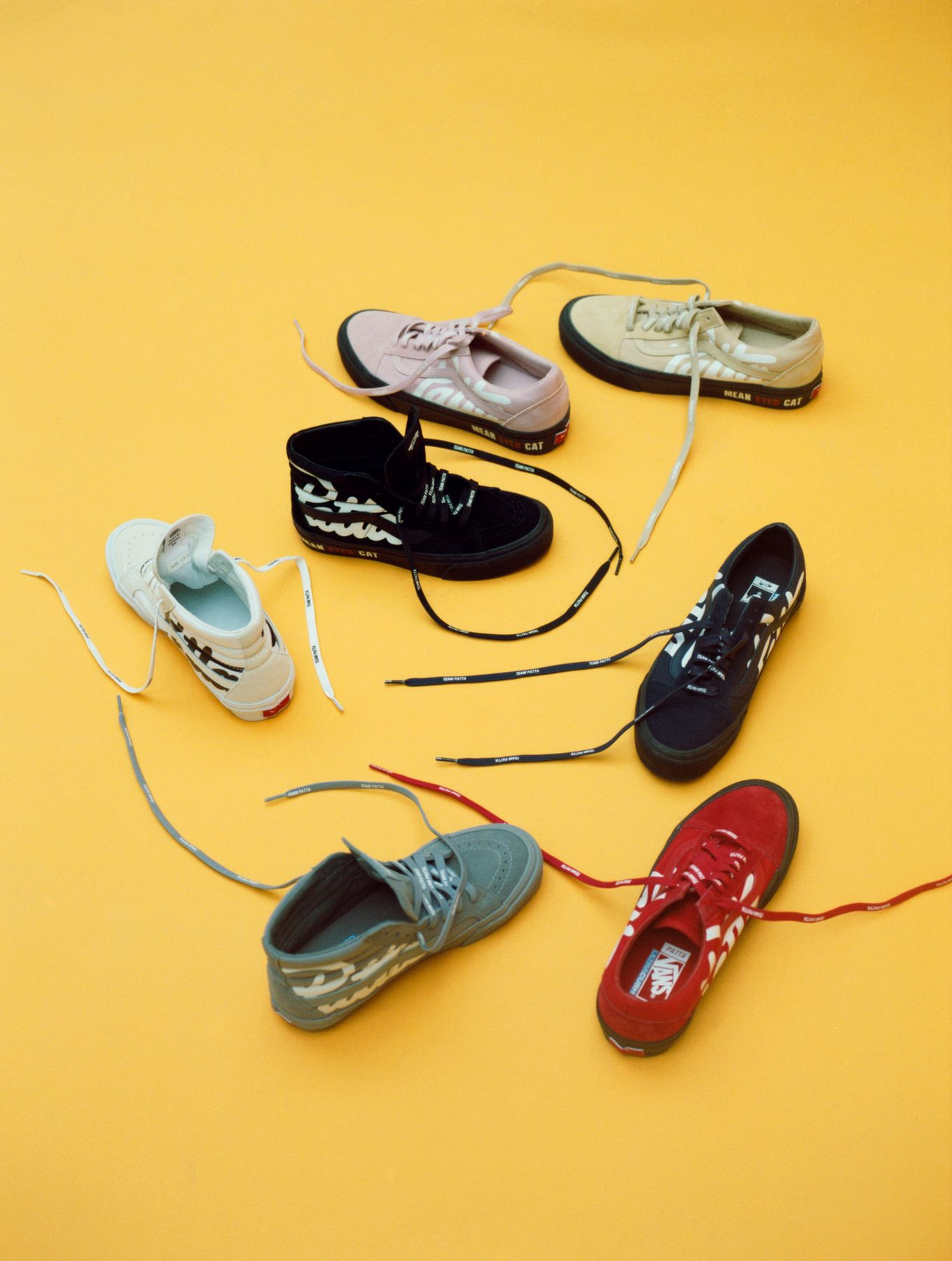 Vans Vault x Patta - Old Skool LX &Sk8-Hi Reissue LX collection