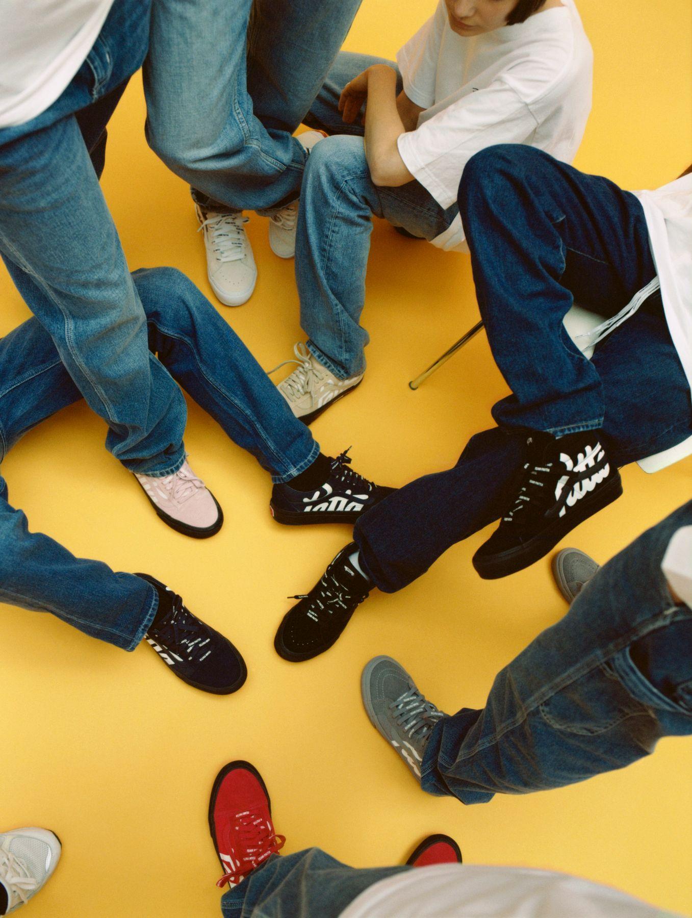 on feet - Vans Vault x Patta - Old Skool LX &Sk8-Hi Reissue LX collection