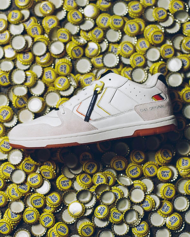 hummel x Vitamalz - sneaker collab