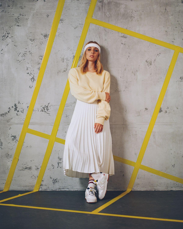 on feet - hummel x Vitamalz - sneaker collab