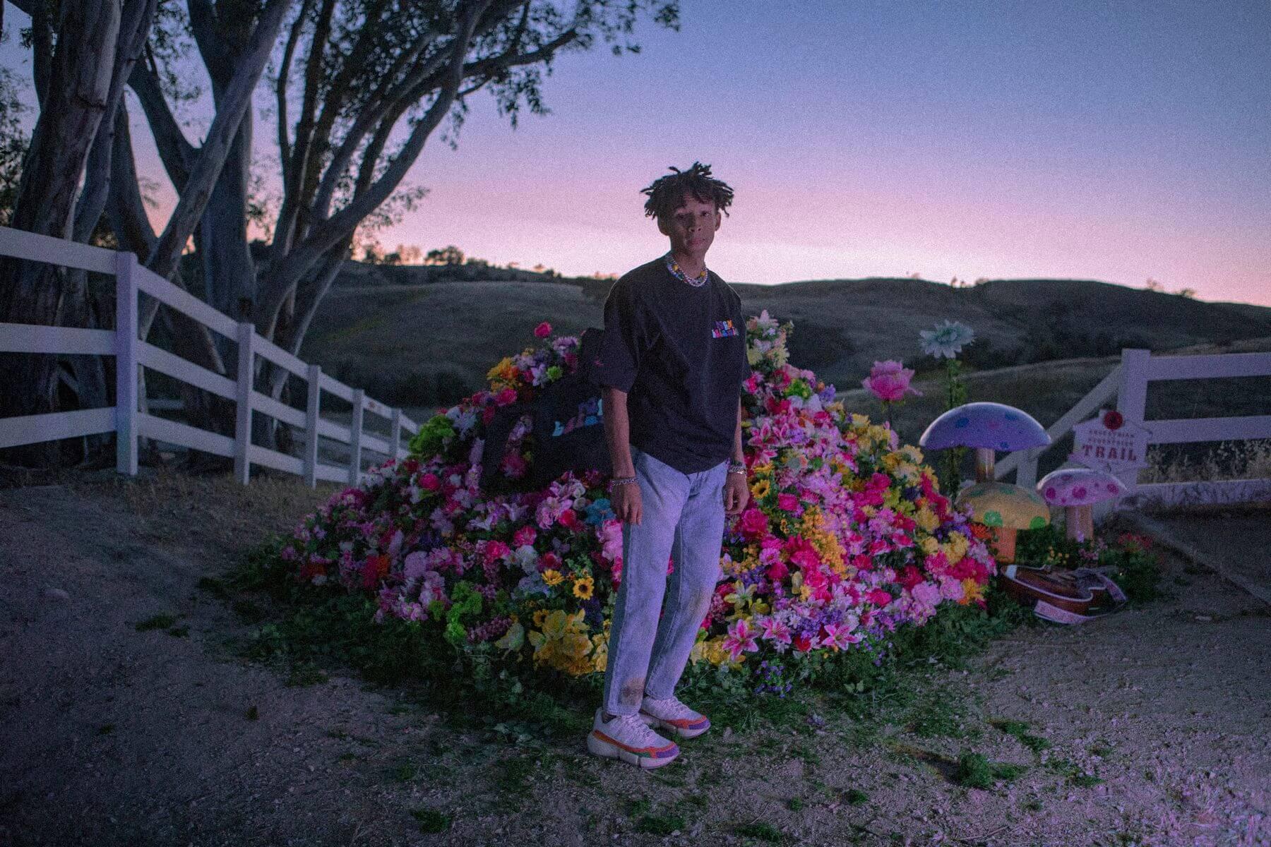"New Balance x Jaden Smith - Vision Racer - ""Trippy Summer"" - sea salt/storm blue - MSVRCV1"