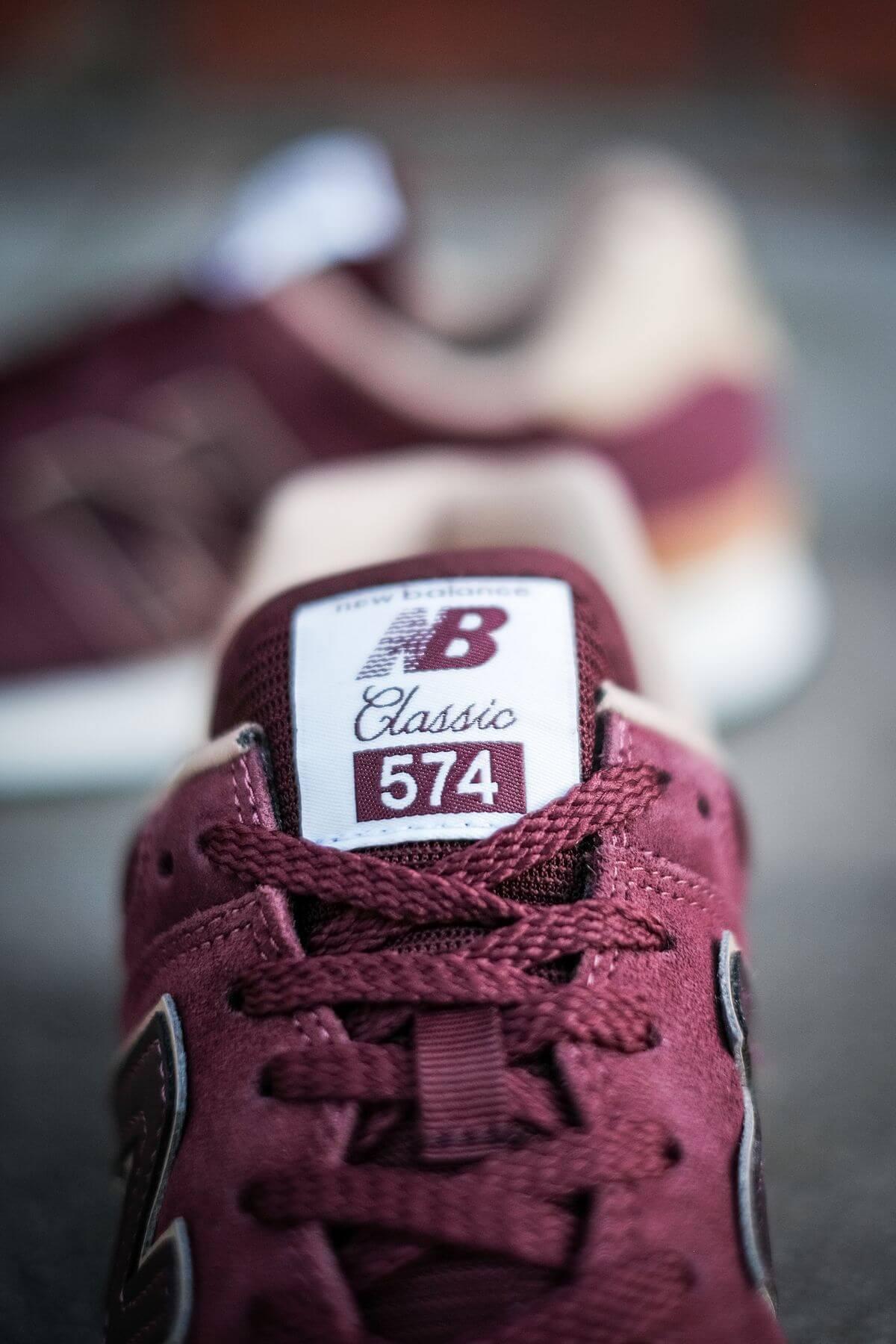New Balance - 574 History Class Pack - ML574BG2 - burgundy
