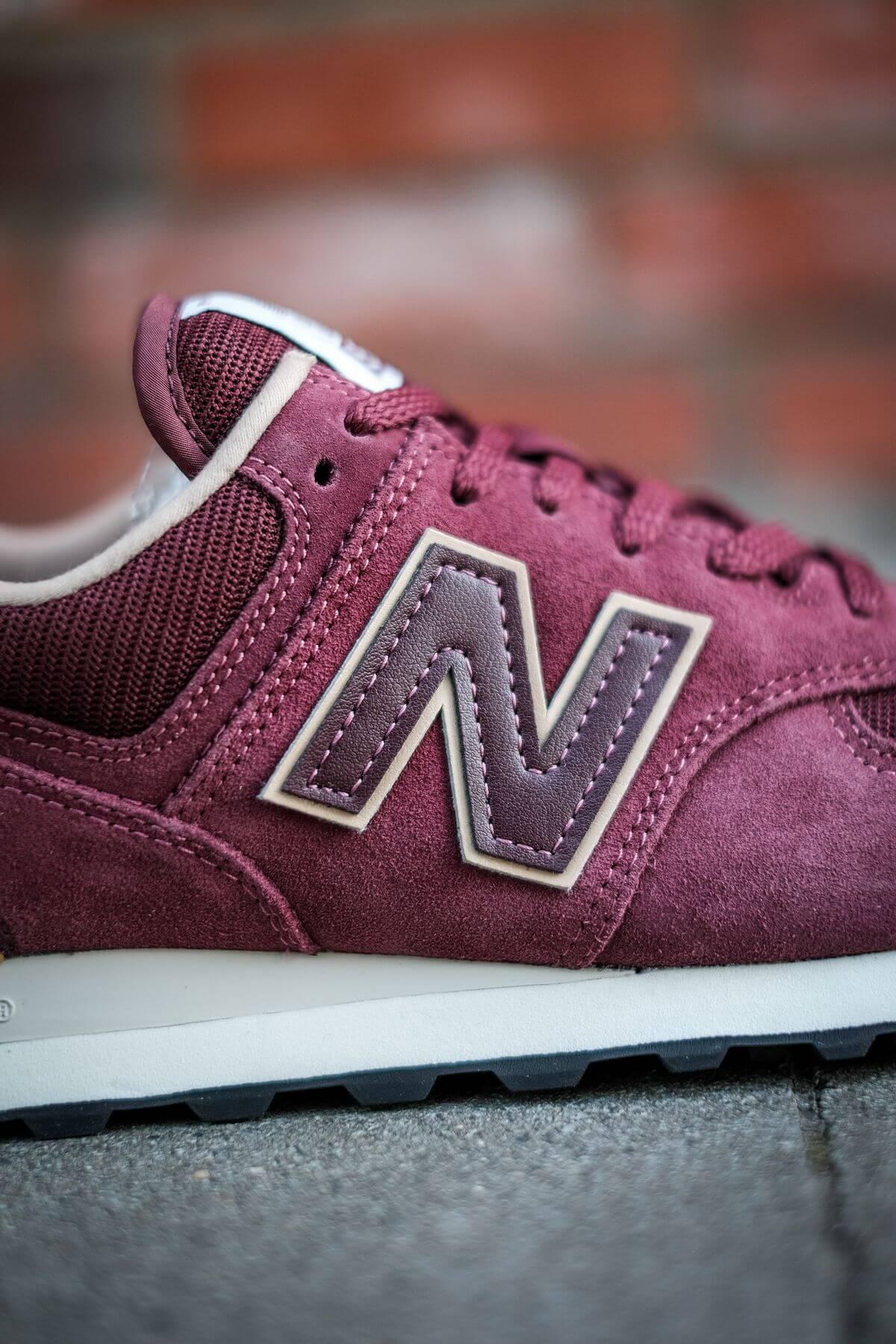 details - N branding -  New Balance - 574 History Class Pack - ML574BG2 - burgundy