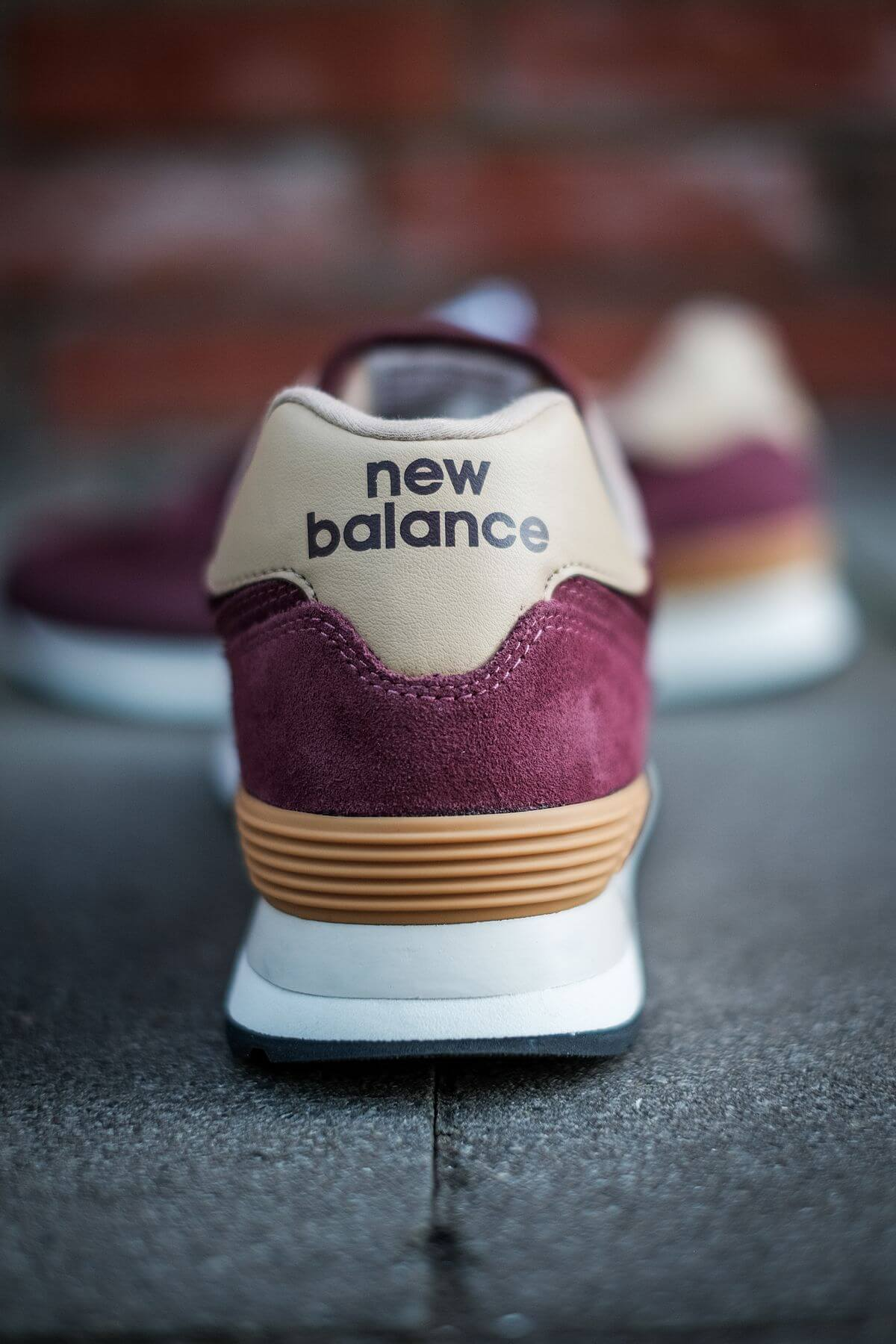 details - New Balance - 574 History Class Pack - ML574BG2 - burgundy