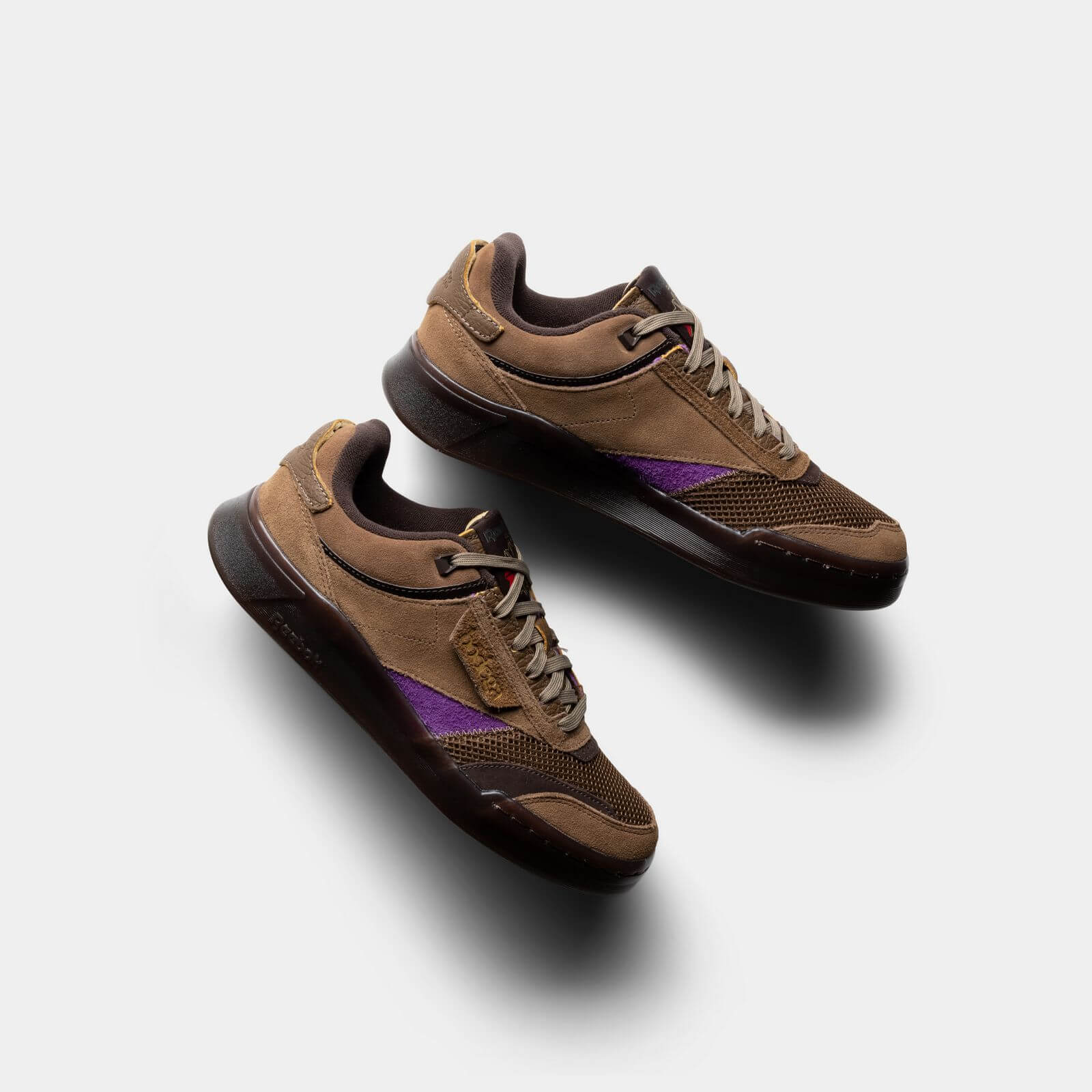 Reebok x Bodega - Club C Legacy - just brown/extreme purple/earth - H03360