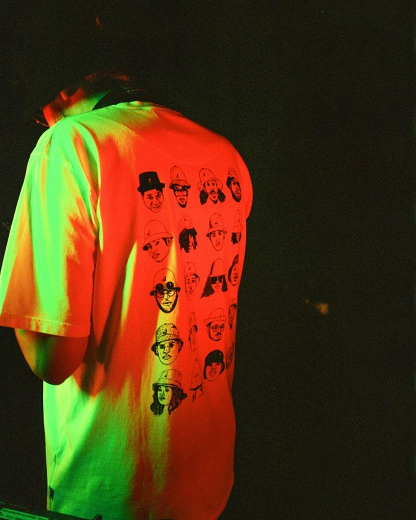"HHV x V.Raeter - Limited Edition ""Kangol Icons"" T-Shirt"