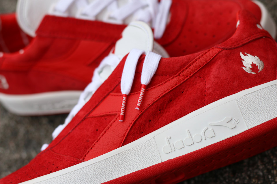 """Diadora x Hanon - """"The Spirit Of 83"""" - B.Elite - red/white - 501161 87501"""