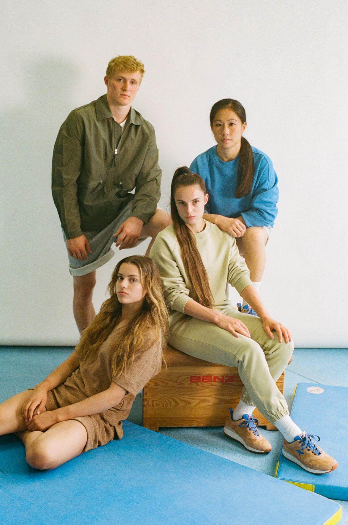 sneaker collab - KangaROOS x DTB(Deutscher Turner-Bund) - The DTB - brown/blue