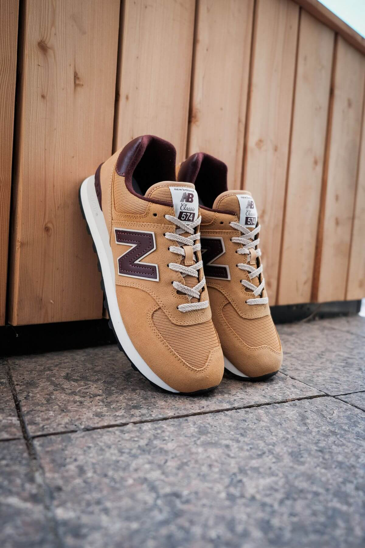 New Balance - 574 History Class Pack - ML574BF2 - brown