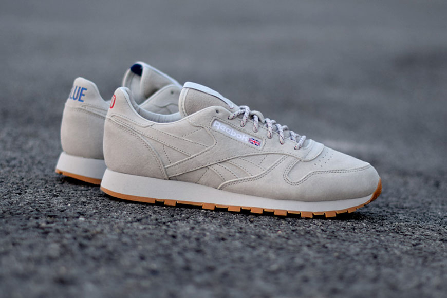 """Reebok x Kendrick Lamar - Classic Leather - """"Red and Blue"""" - AR0586"""