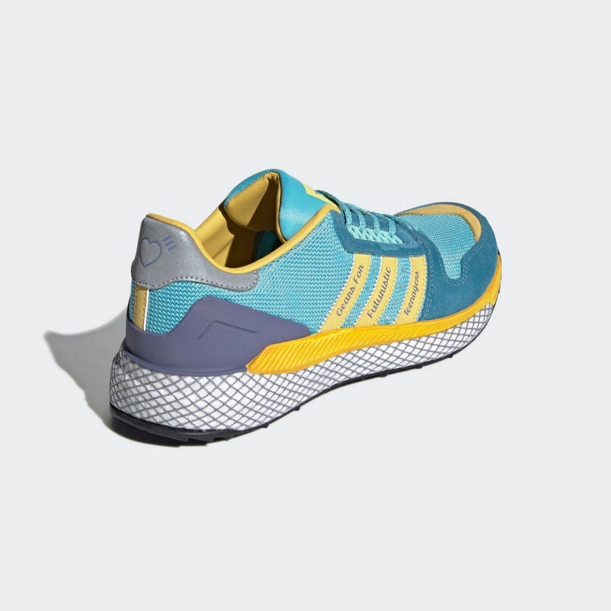 adidas x Human Made - Questar - light aqua/st fade ocean/core black - GY3018