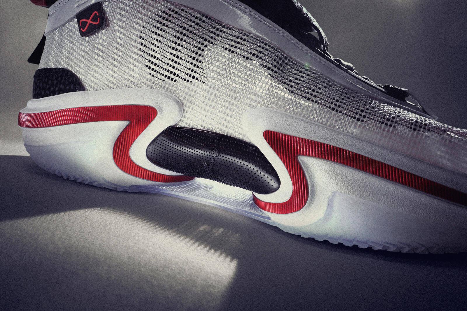 sole details of the Nike Air Jordan XXXVI- Psychic Energy