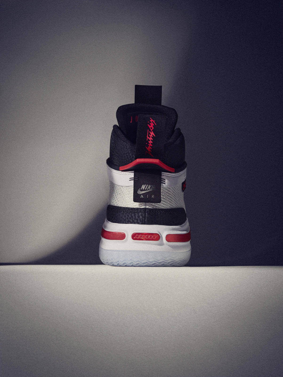 heel details - Nike Air Jordan XXXVI- Psychic Energy