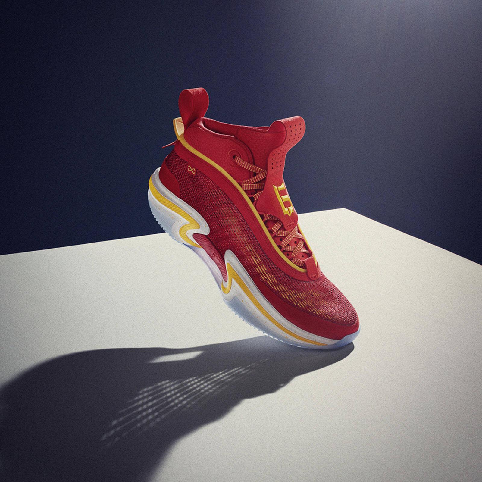 Nike Air Jordan XXXVI36 - Global Game - Guo Ailun - red yellow white