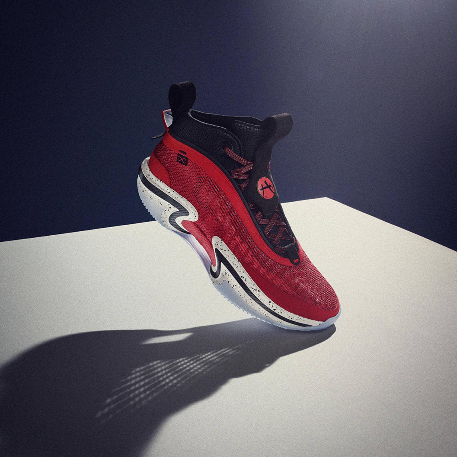 Nike Air Jordan XXXVI36 - Global Game - Rui Hachimura - red black white