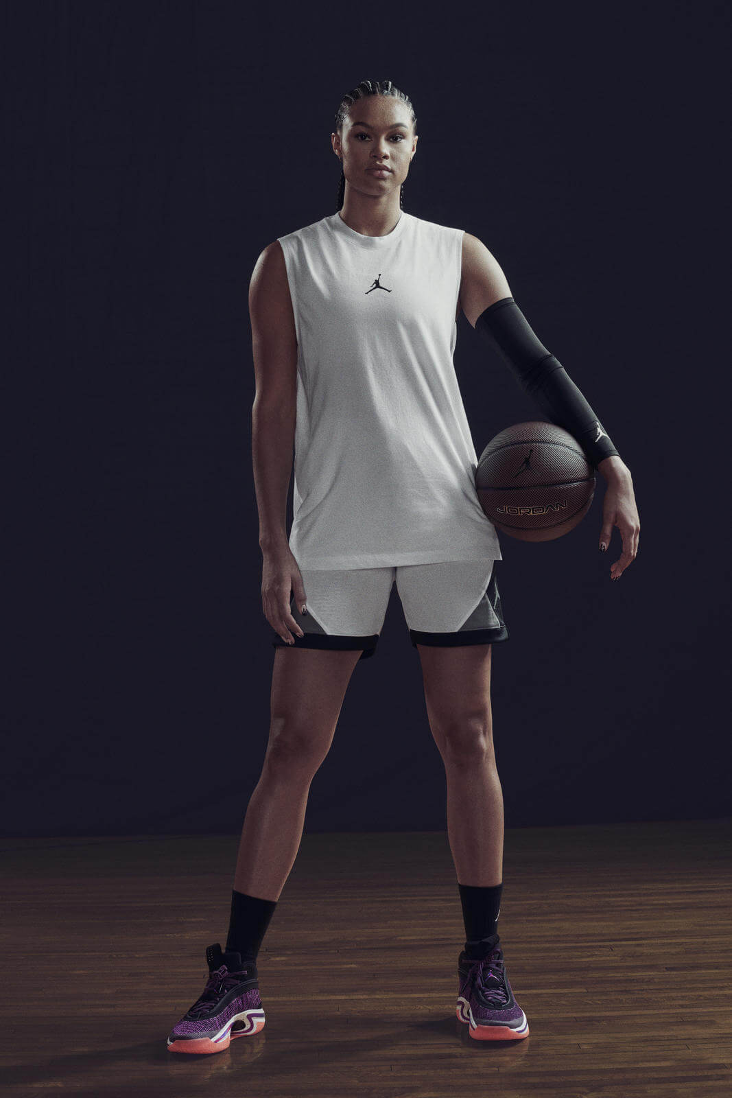 Satou Sabally im Nike Air Jordan 36 XXXVI - First Light colorway